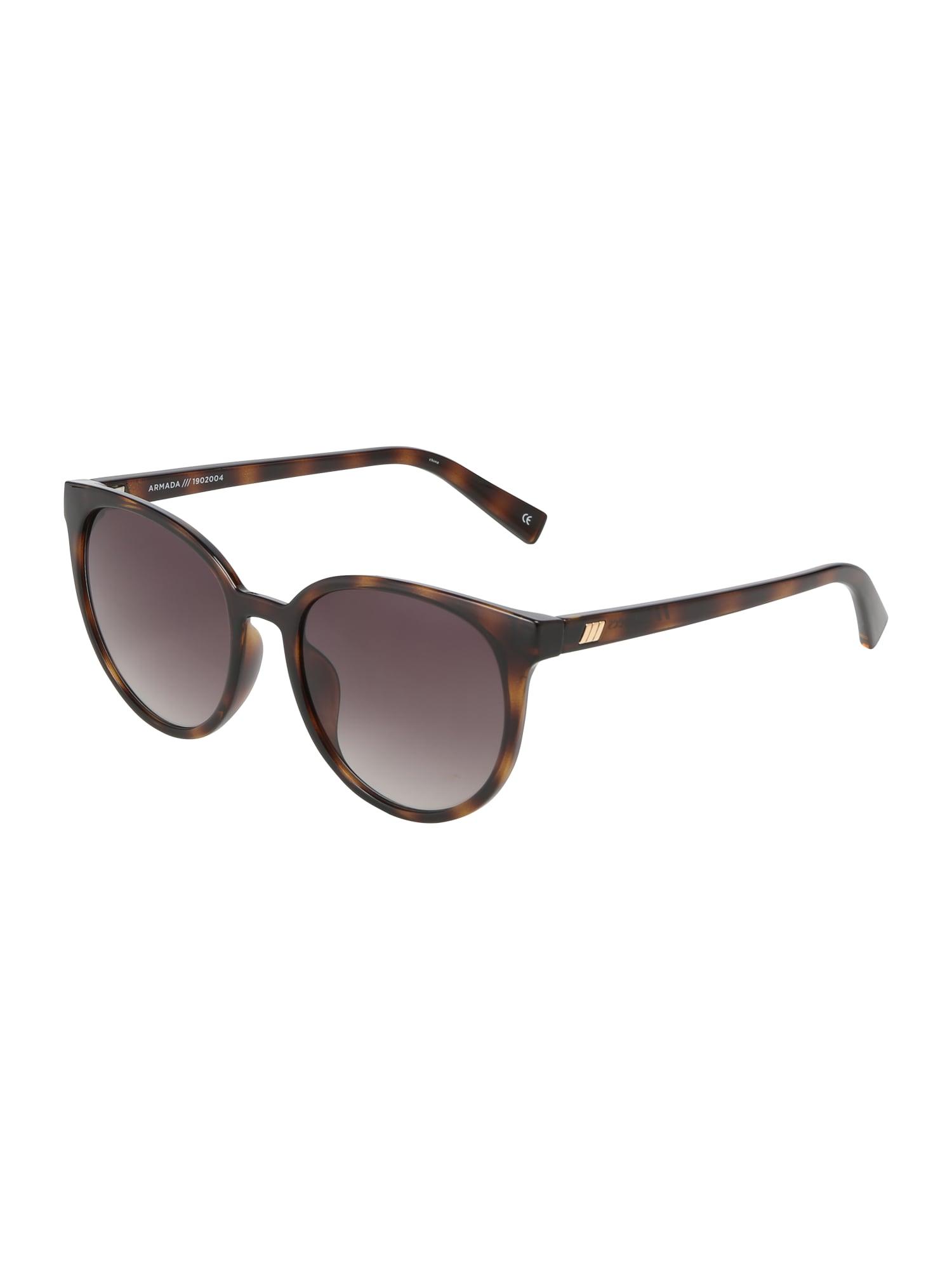LE SPECS Sluneční brýle 'Armada'  hnědá / khaki