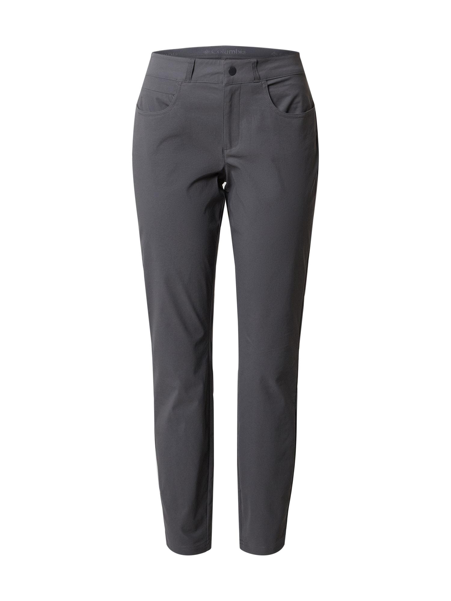 COLUMBIA Sportovní kalhoty 'Firwood™'  šedá
