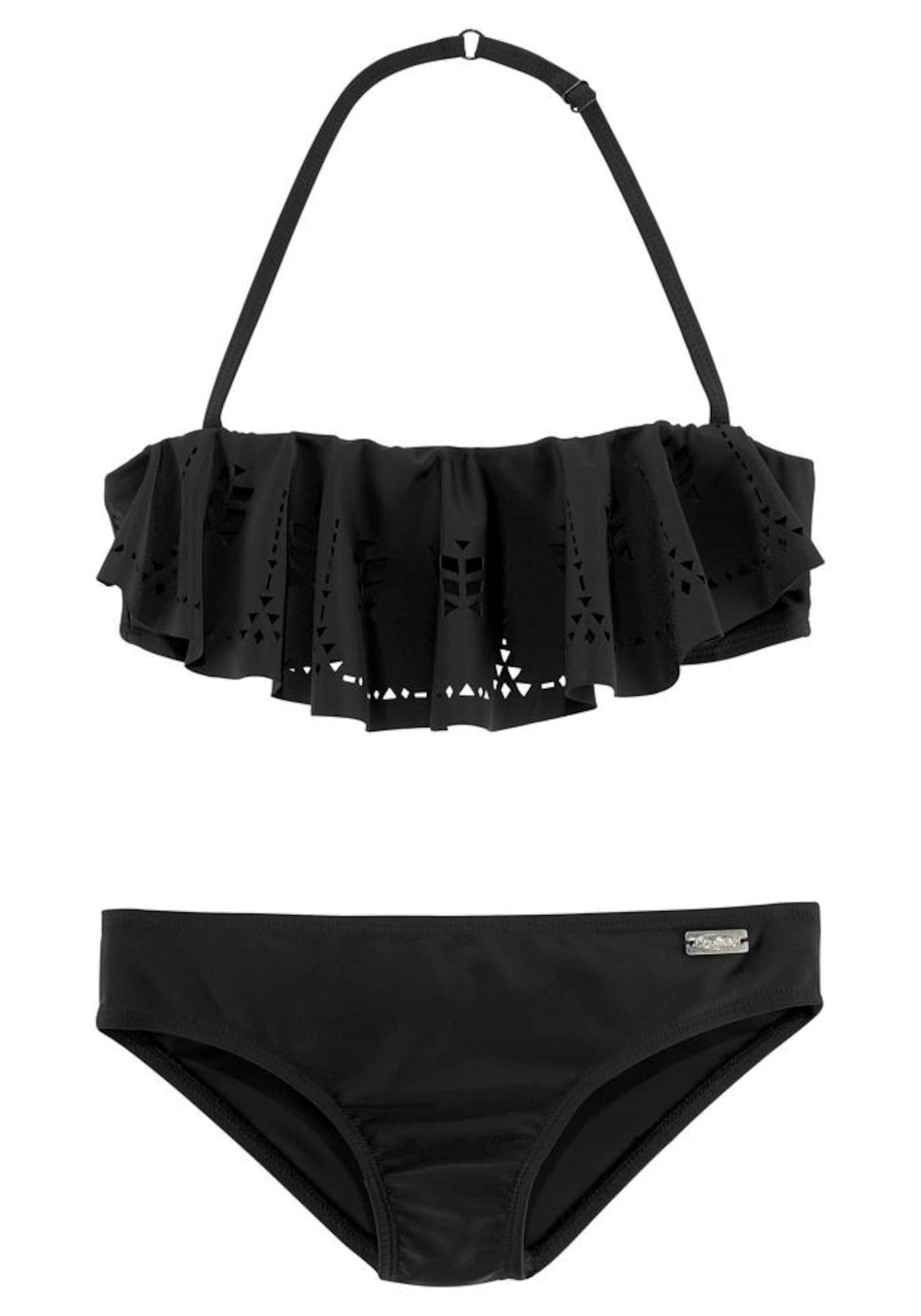 BUFFALO Bikinis 'Split Buf' juoda
