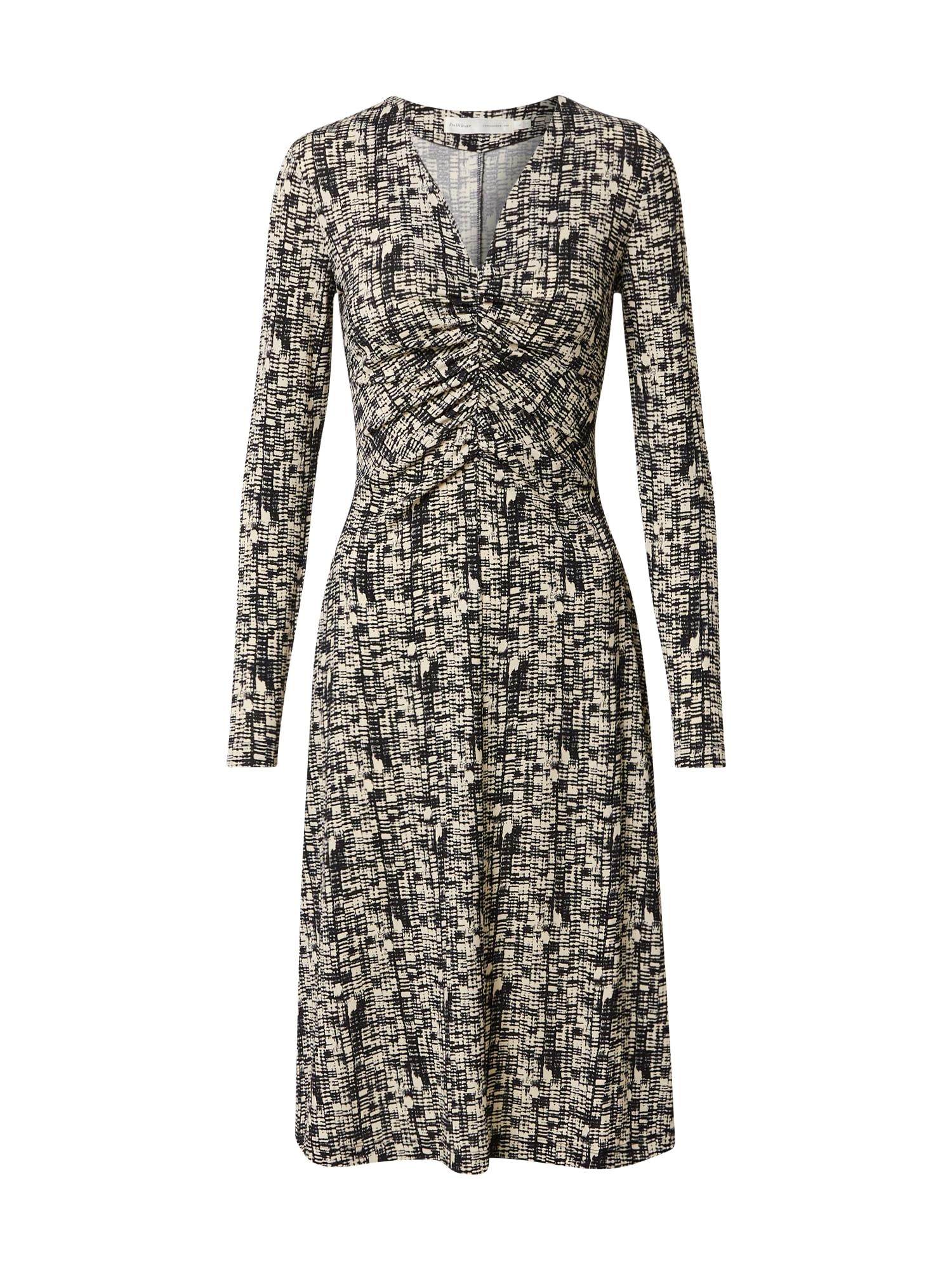 InWear Vasarinė suknelė 'CicilieI' juoda / balta