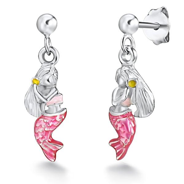 Ohrringe für Frauen - Rafaela Donata Ohrstecker pink silber  - Onlineshop ABOUT YOU