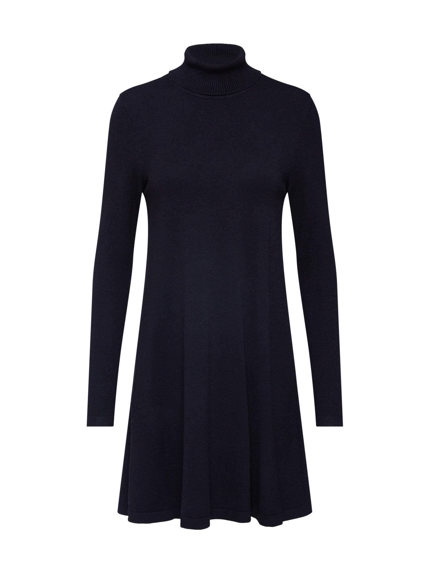 VERO MODA Pletené šaty 'HAPPY'  čierna