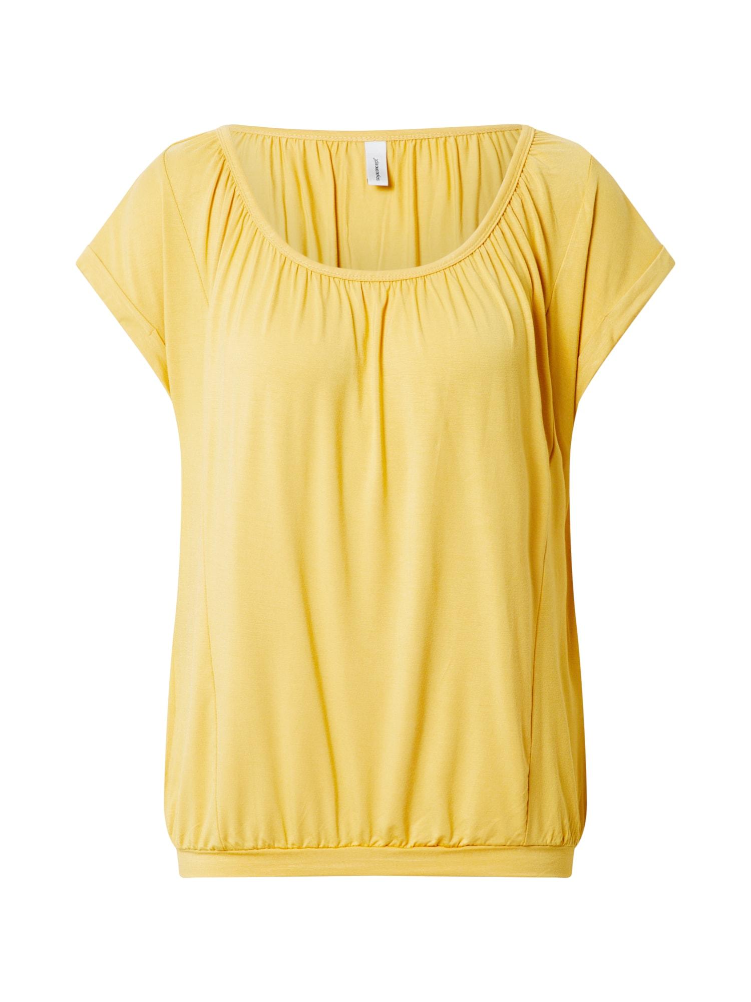 Soyaconcept Tričko 'MARICA'  žlté