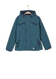 S.Oliver Junior,s.Oliver Kinder,Jungen Warme Melange-Jacke blau | 04055268040905