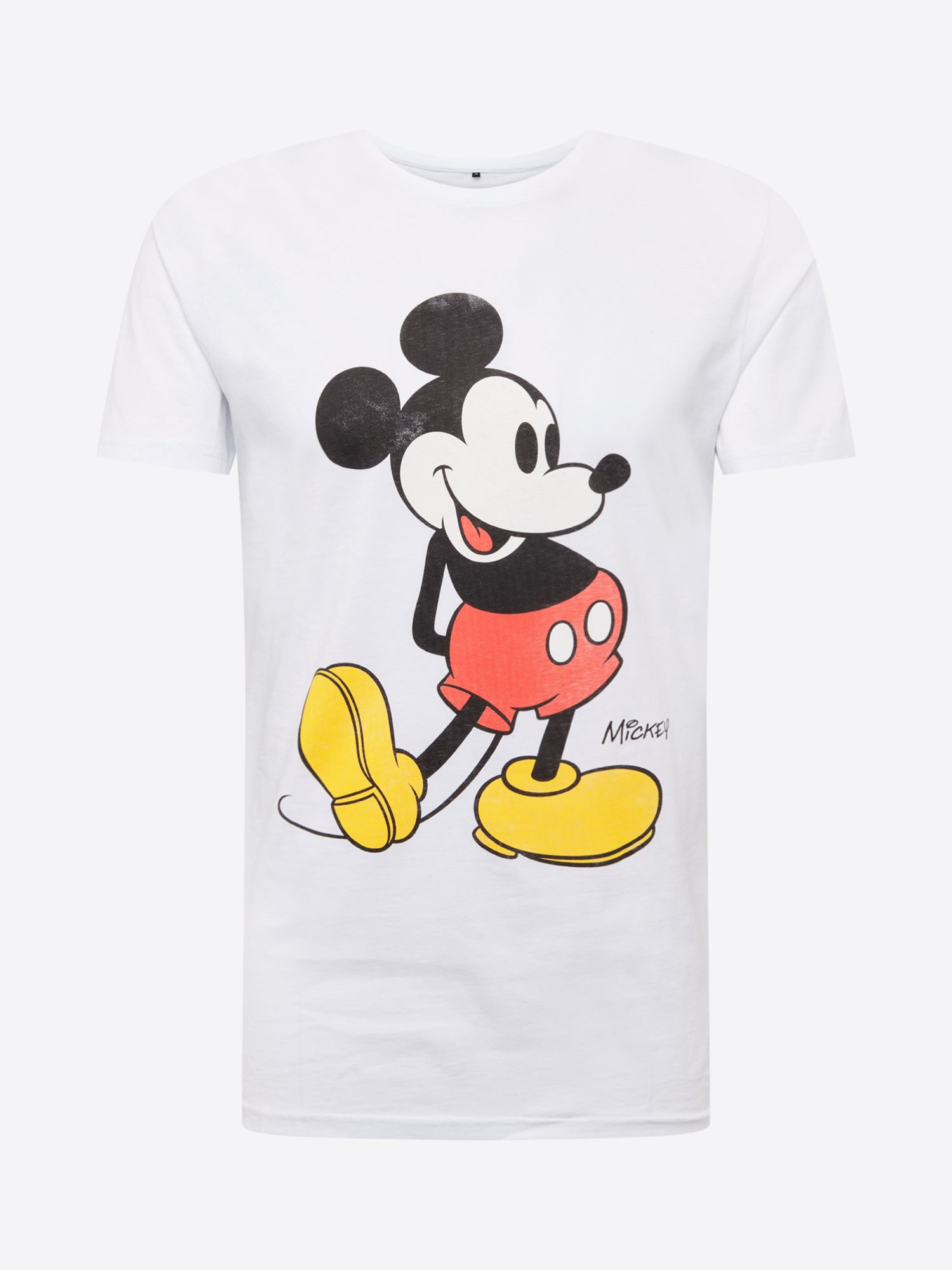 Tričko Mickey Mouse bílá Mister Tee
