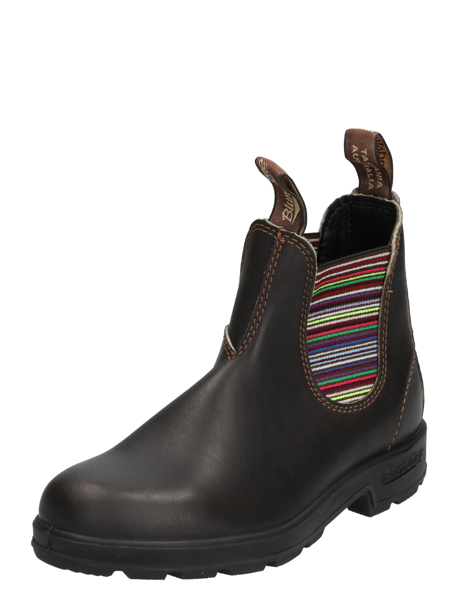 """Blundstone """"Chelsea"""" batai mišrios spalvos / tamsiai ruda"""