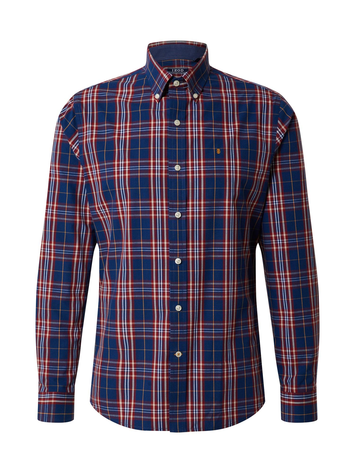 IZOD Marškiniai raudona / tamsiai mėlyna / rubinų raudona / aukso geltonumo spalva / šviesiai pilka