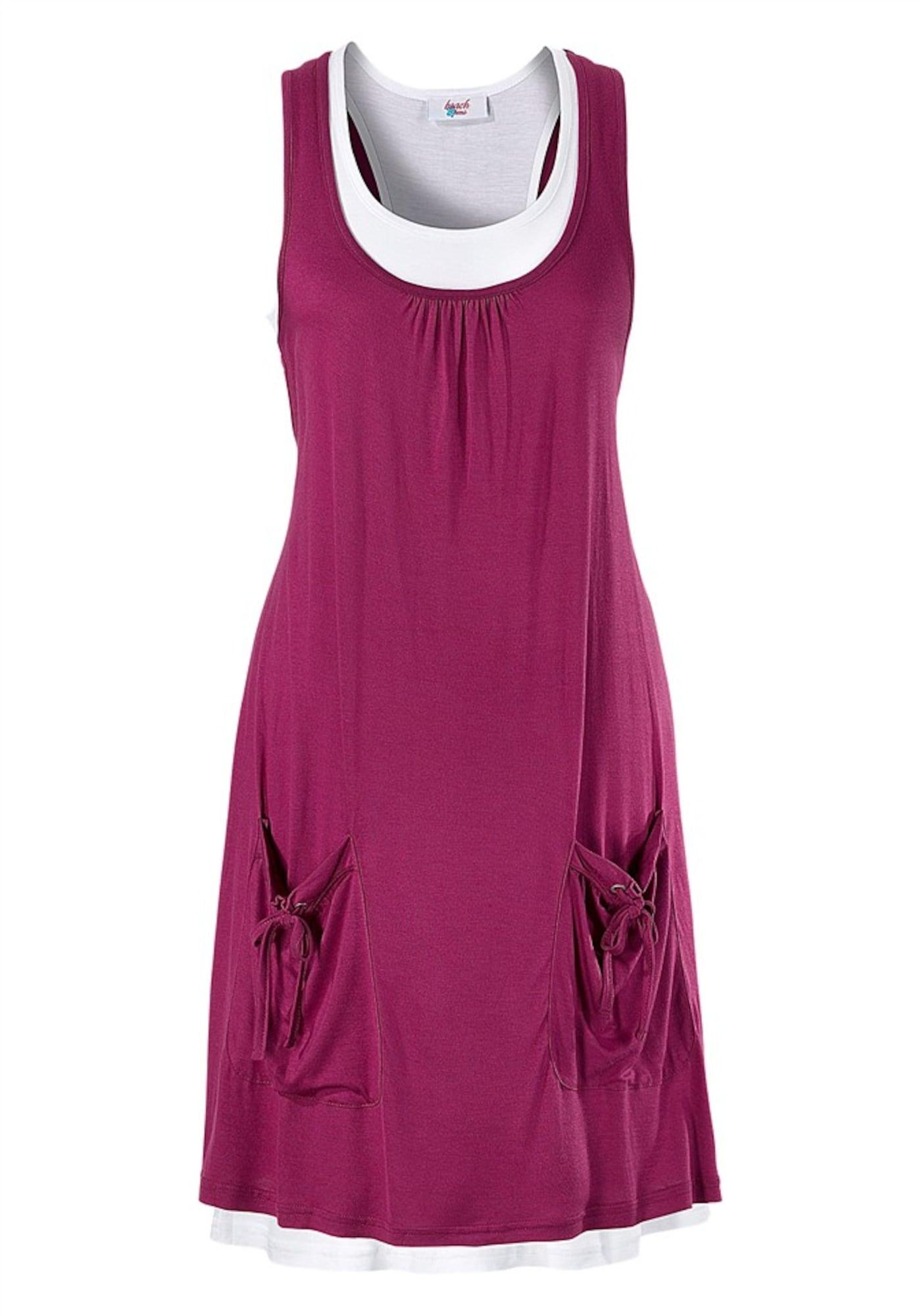 BEACH TIME Vasarinė suknelė ciklameno spalva