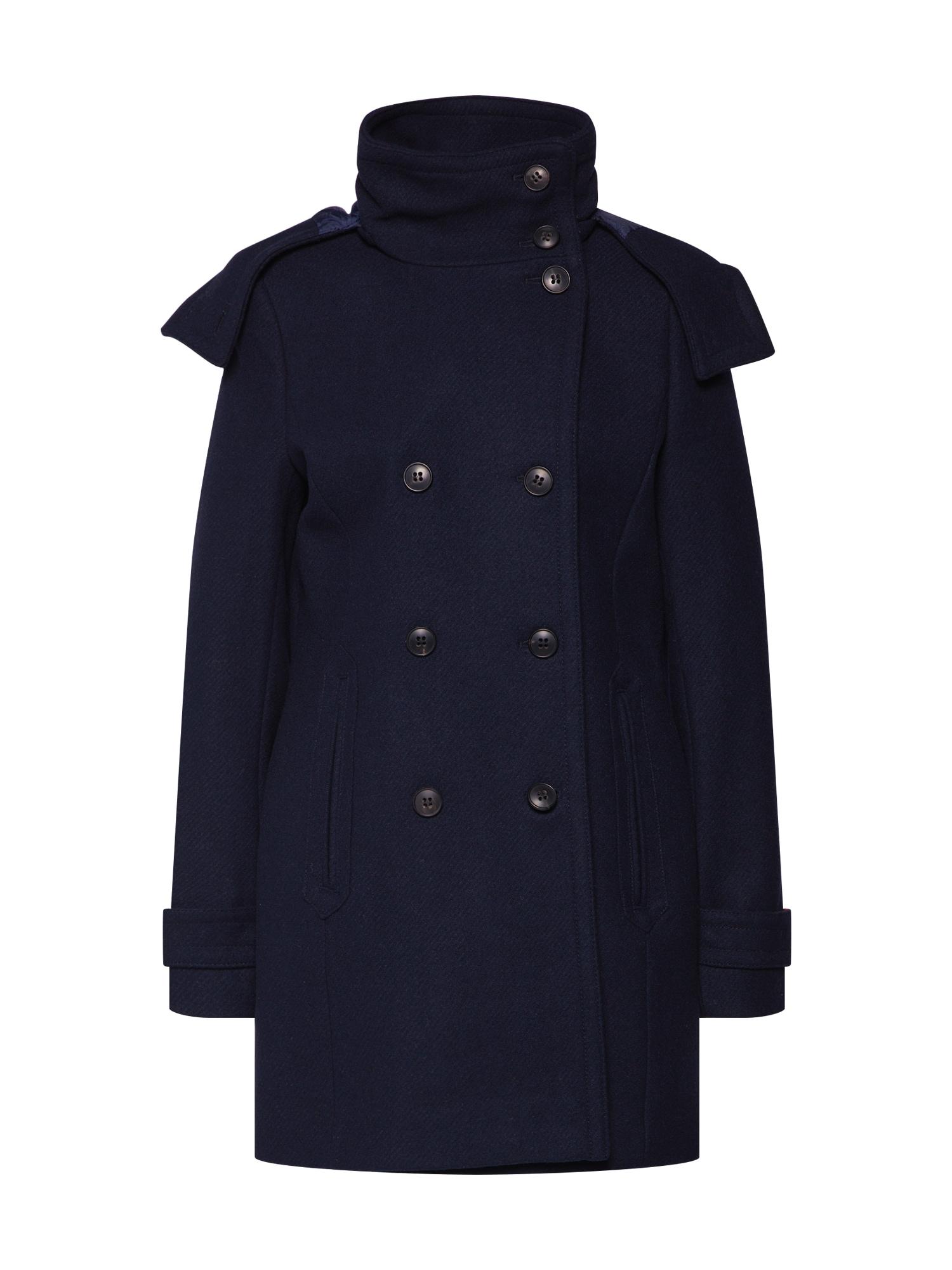 ESPRIT Žieminis paltas tamsiai mėlyna