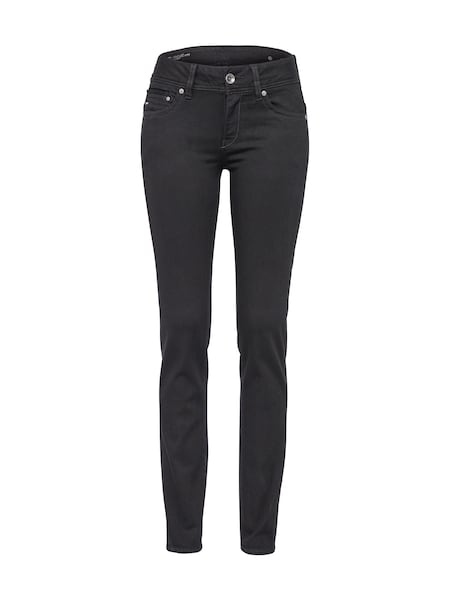 Hosen - 'Midge Saddle' Regular Fit Jeans › G Star Raw › black denim  - Onlineshop ABOUT YOU