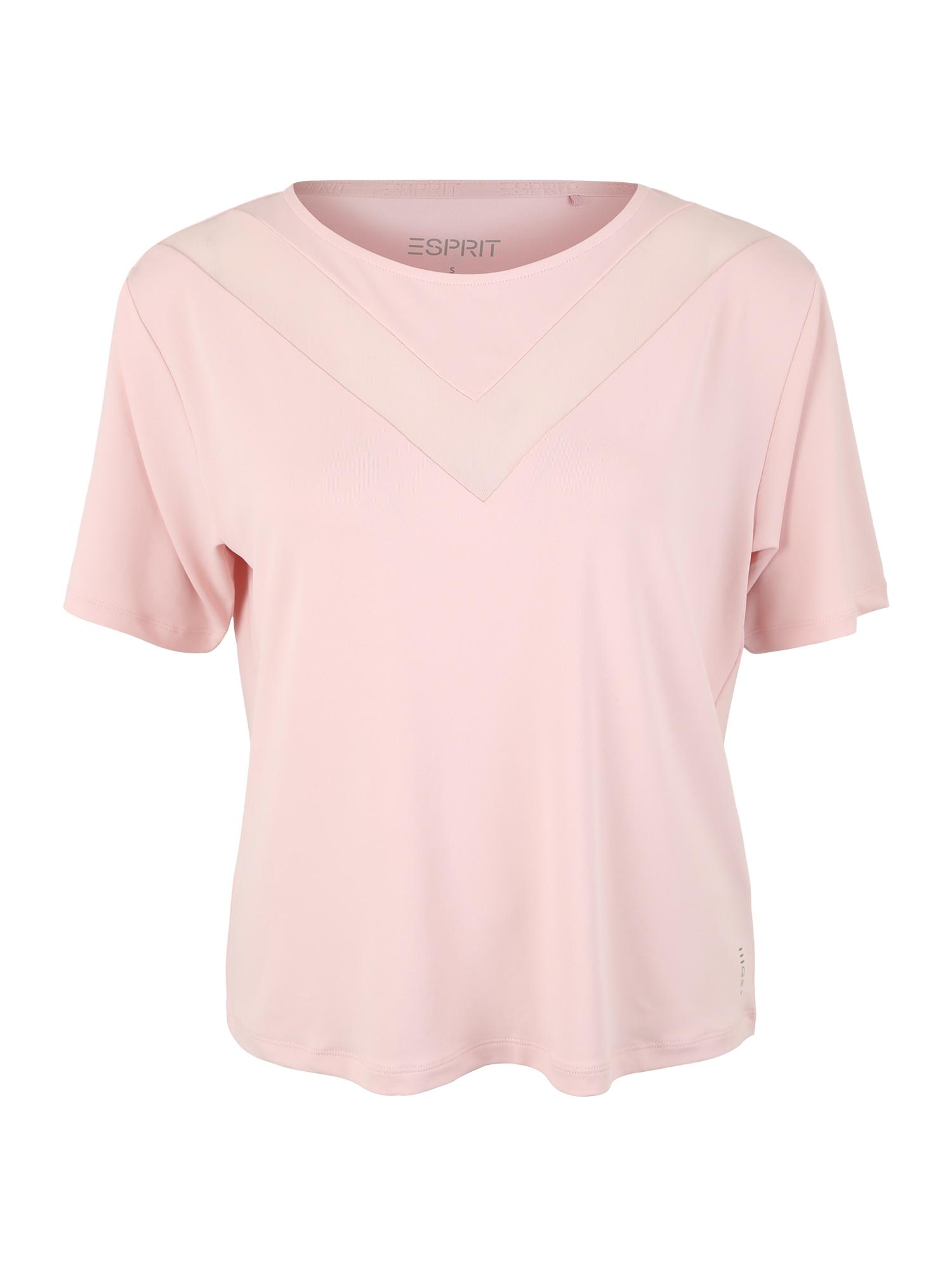 Funkční tričko růžová ESPRIT SPORTS