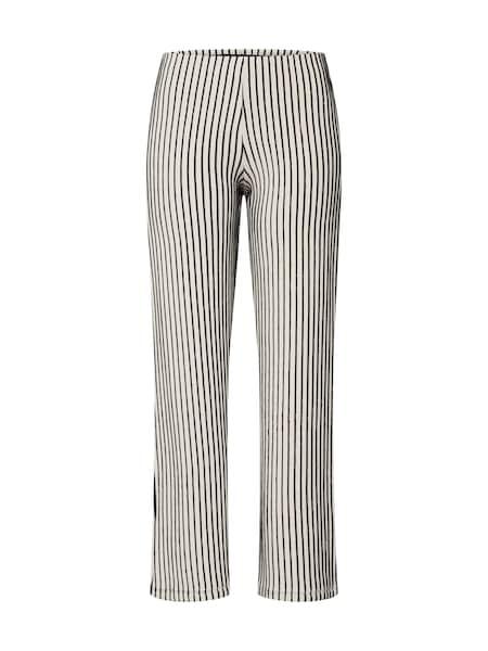 Hosen für Frauen - EDITED Hose 'Niah' beige schwarz  - Onlineshop ABOUT YOU