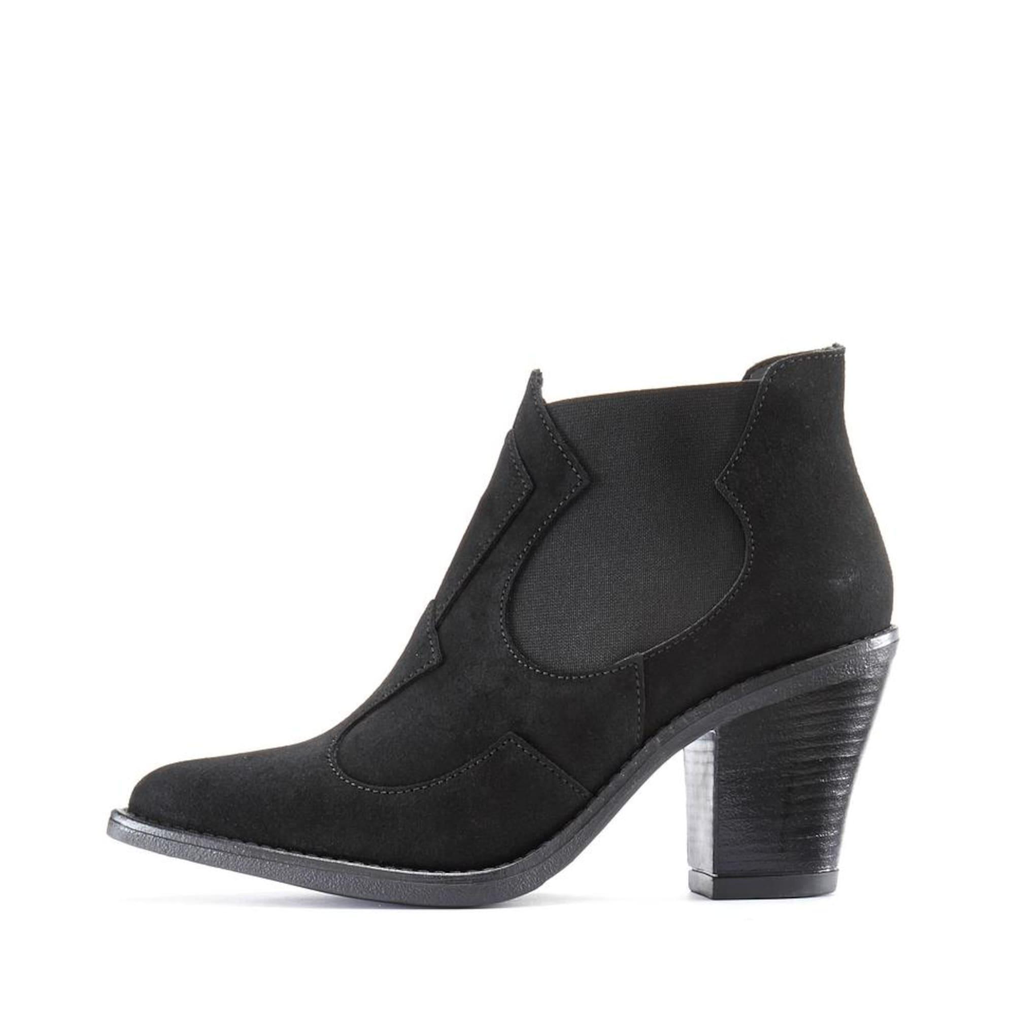 LASCANA Chelsea batai juoda