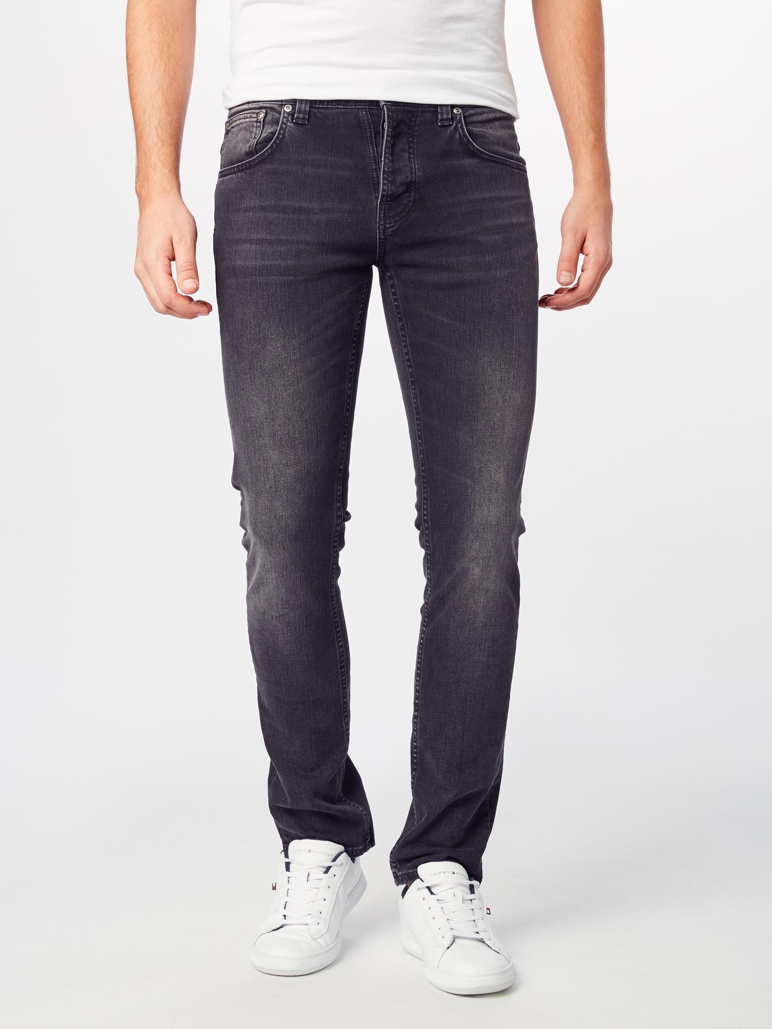 Nudie Jeans Co Jeans 'Grim Tim'  svart denim