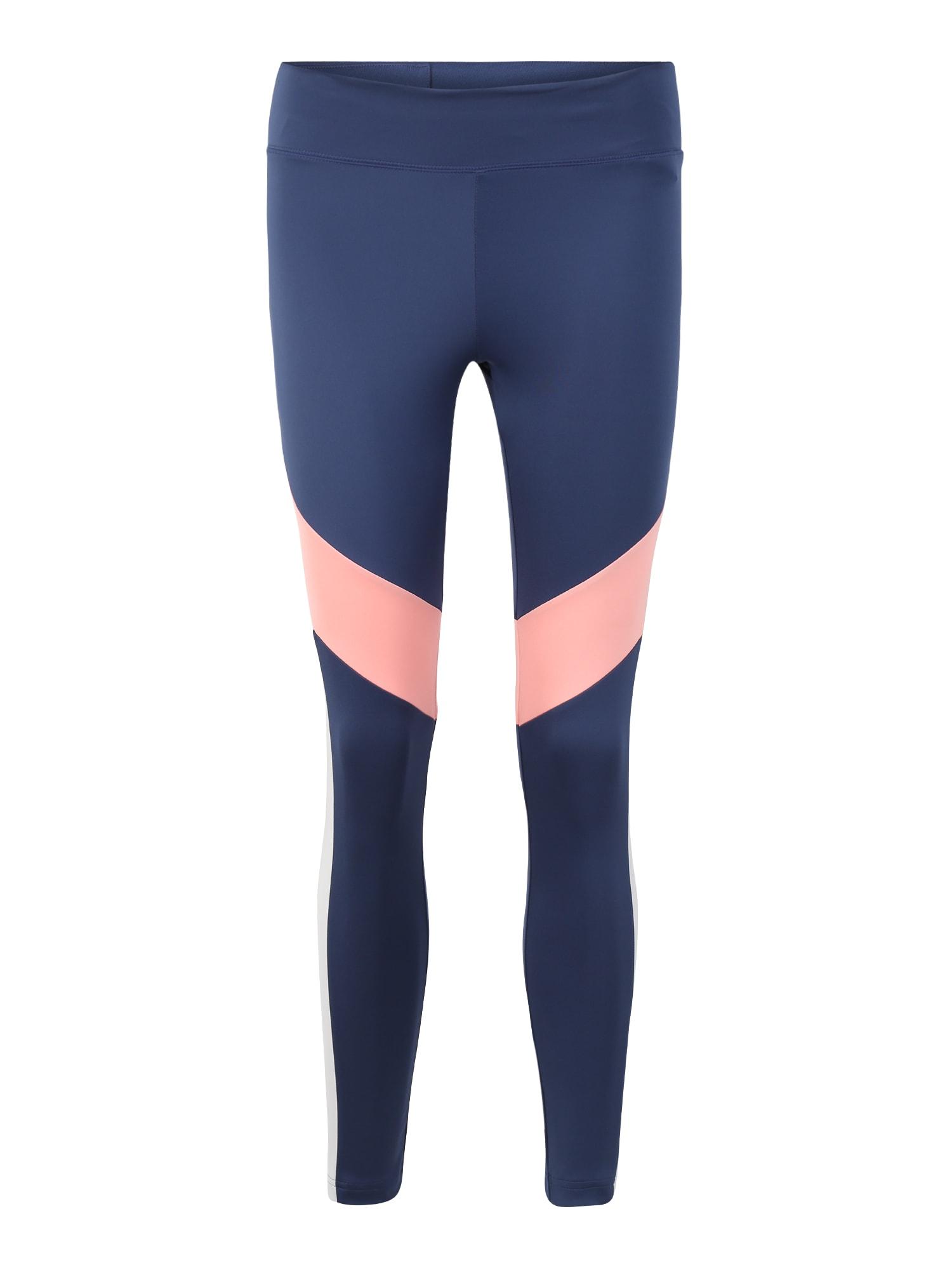 ADIDAS PERFORMANCE Sportinės kelnės 'W D2M CB 78TIG' rožių spalva / tamsiai mėlyna