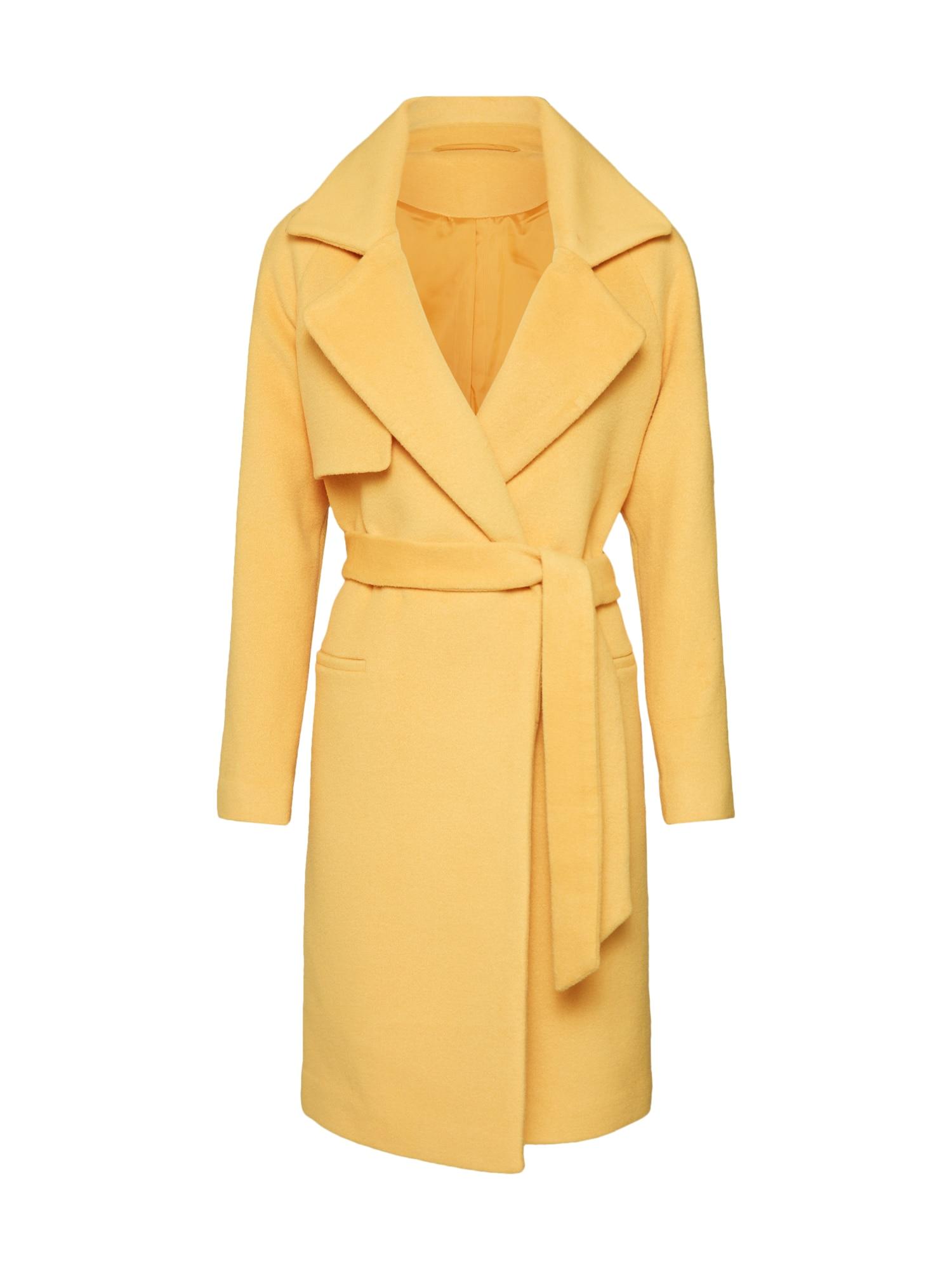 Přechodný kabát 2ND Livia světle žlutá 2ND DAY