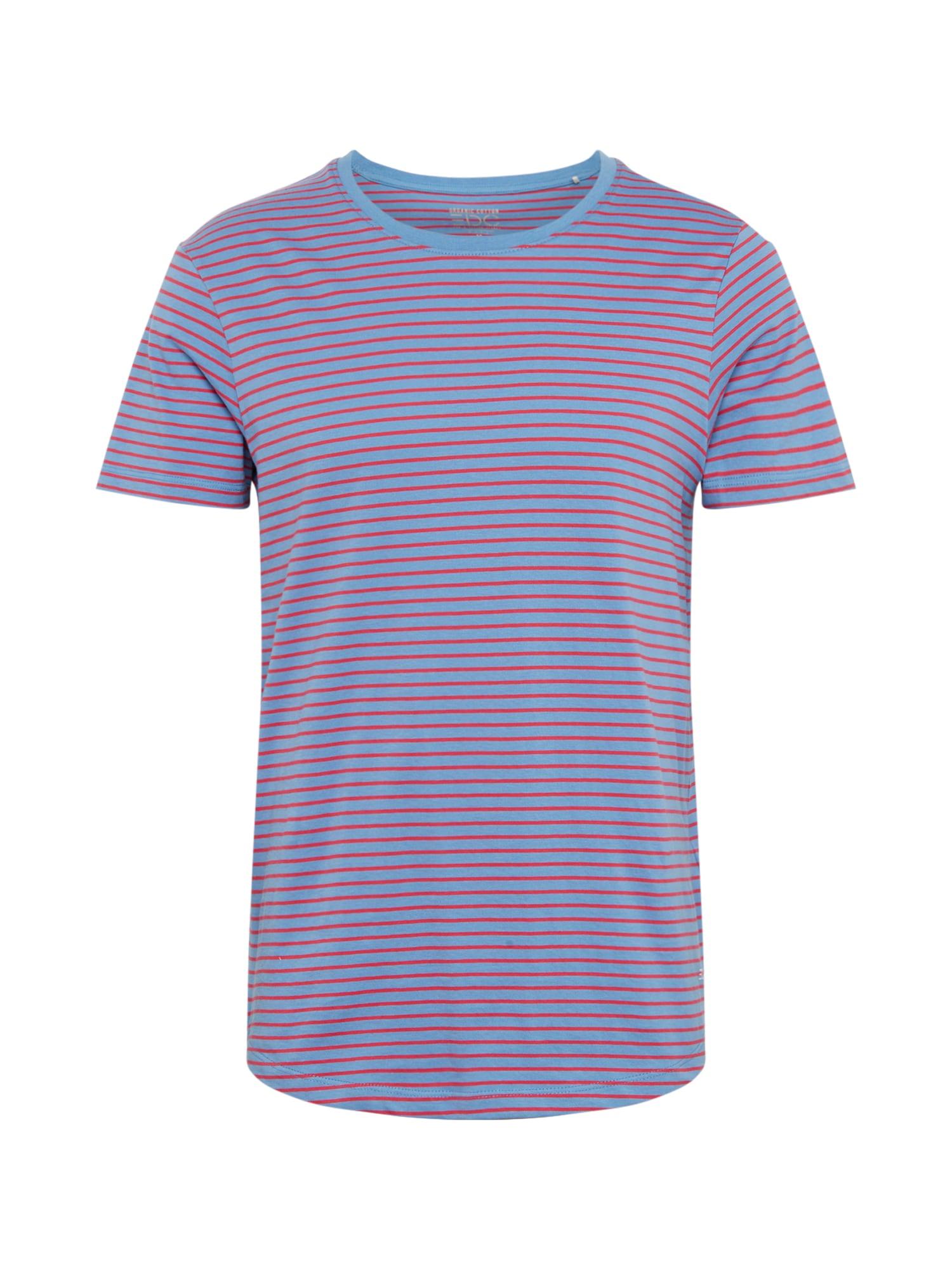 EDC BY ESPRIT Marškinėliai šviesiai mėlyna