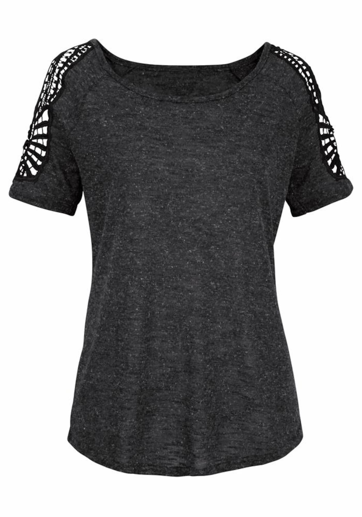 VIVANCE Marškinėliai natūrali balta / antracito