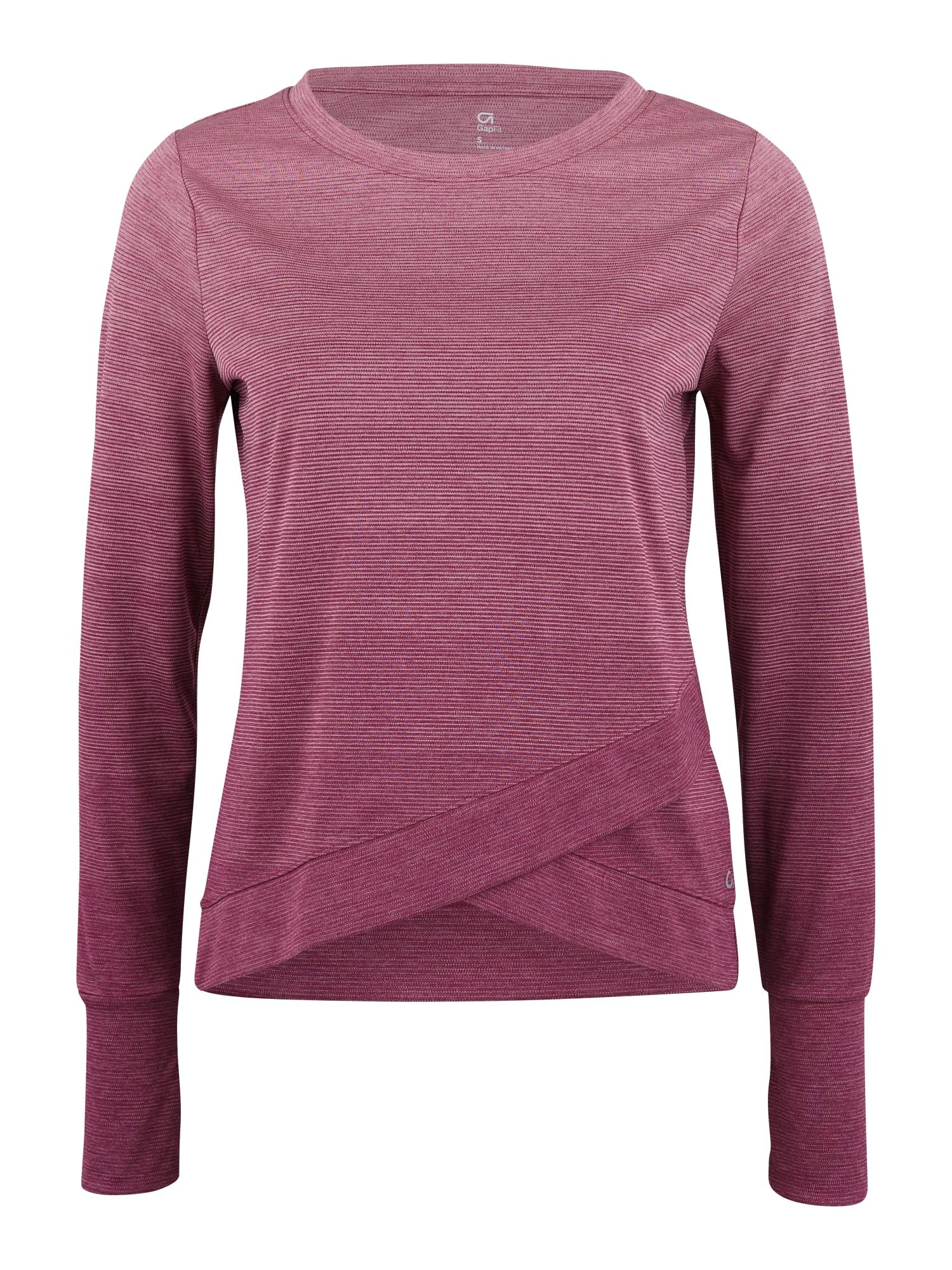 Funkční tričko fialová GAP