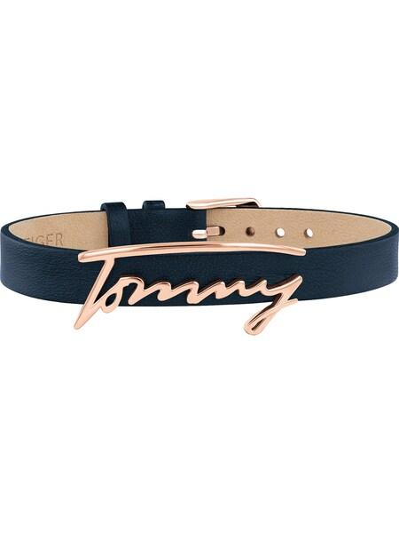 Armbaender für Frauen - Armband 'Dressed up, 2780224' › Tommy Hilfiger › dunkelblau rosegold  - Onlineshop ABOUT YOU