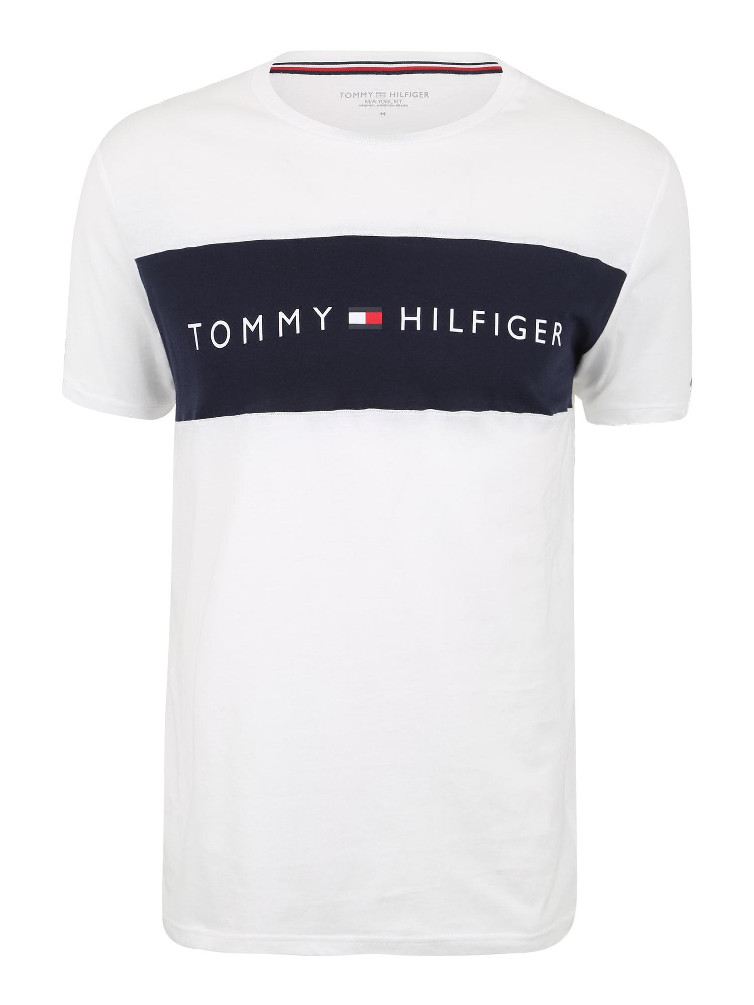 Tommy Hilfiger Underwear Trumpa pižama juoda / balta