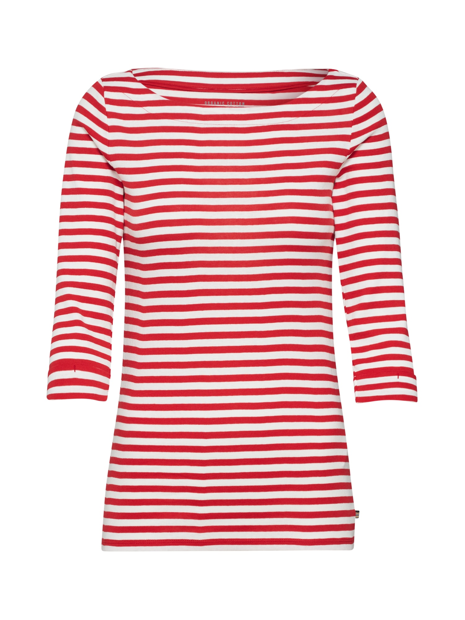 ESPRIT Marškinėliai balta / raudona