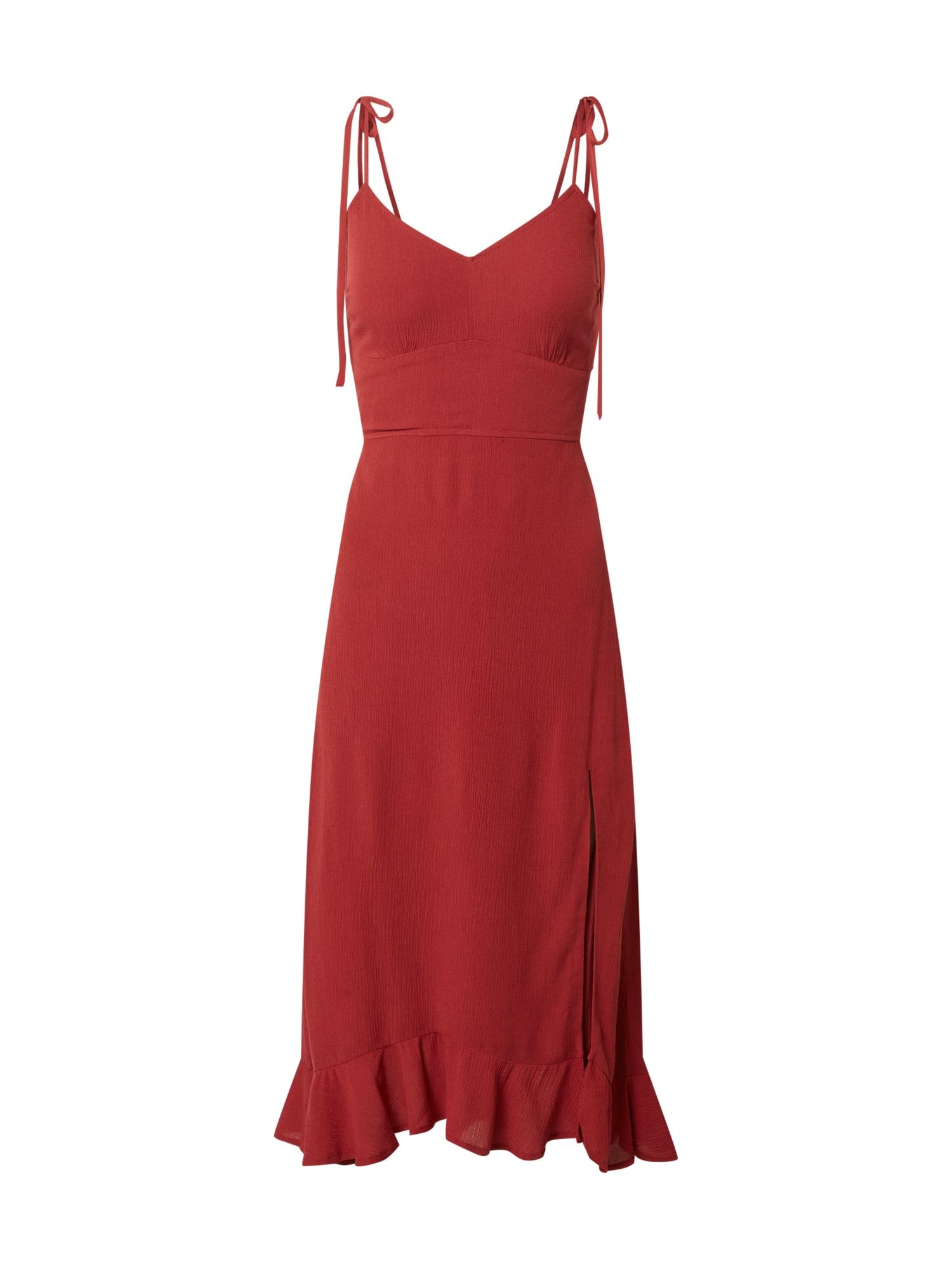 Abercrombie & Fitch Suknelė rūdžių raudona