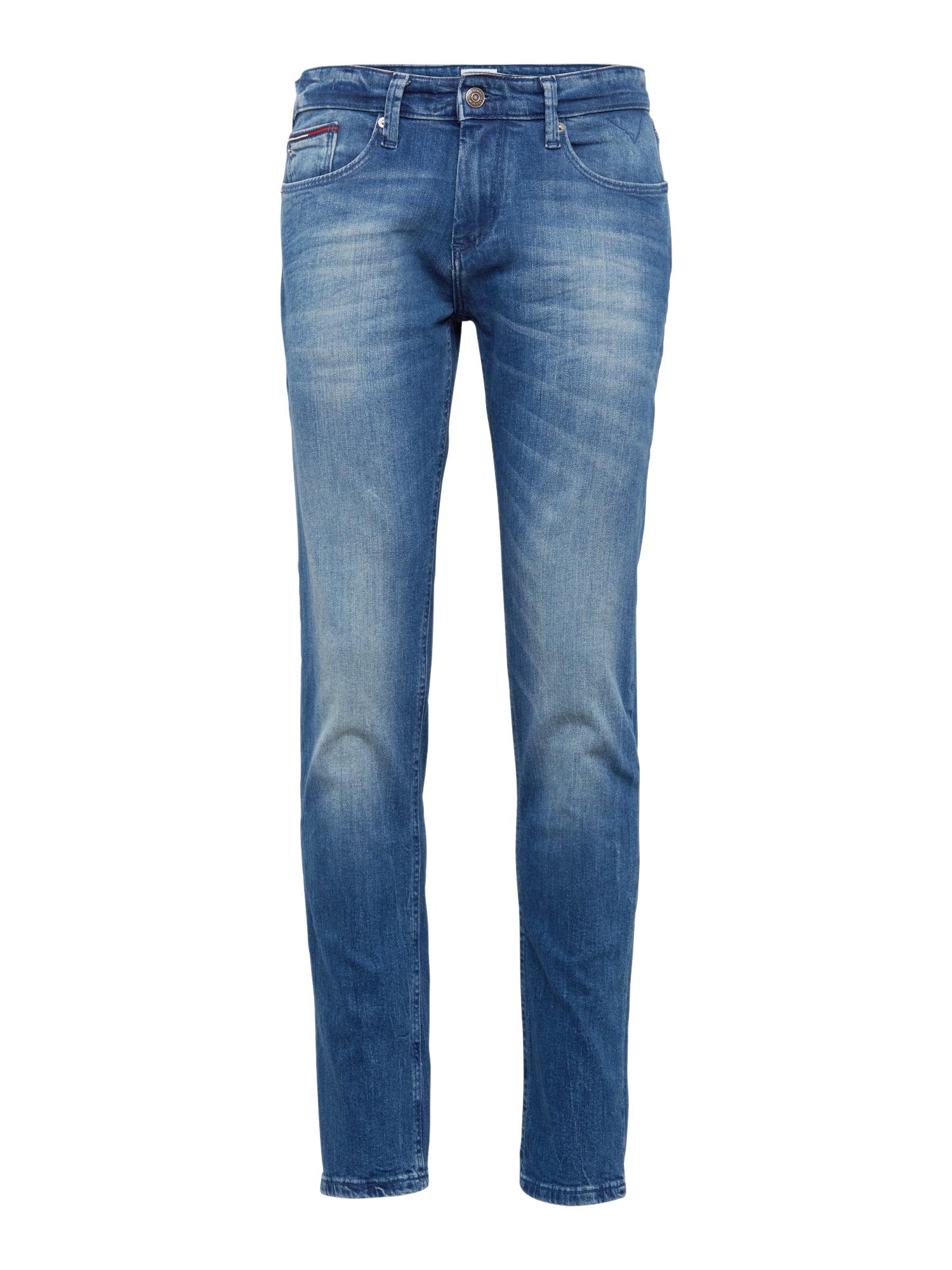 Tommy Jeans Džinsai 'Slim Scanton BEMB' tamsiai (džinso) mėlyna