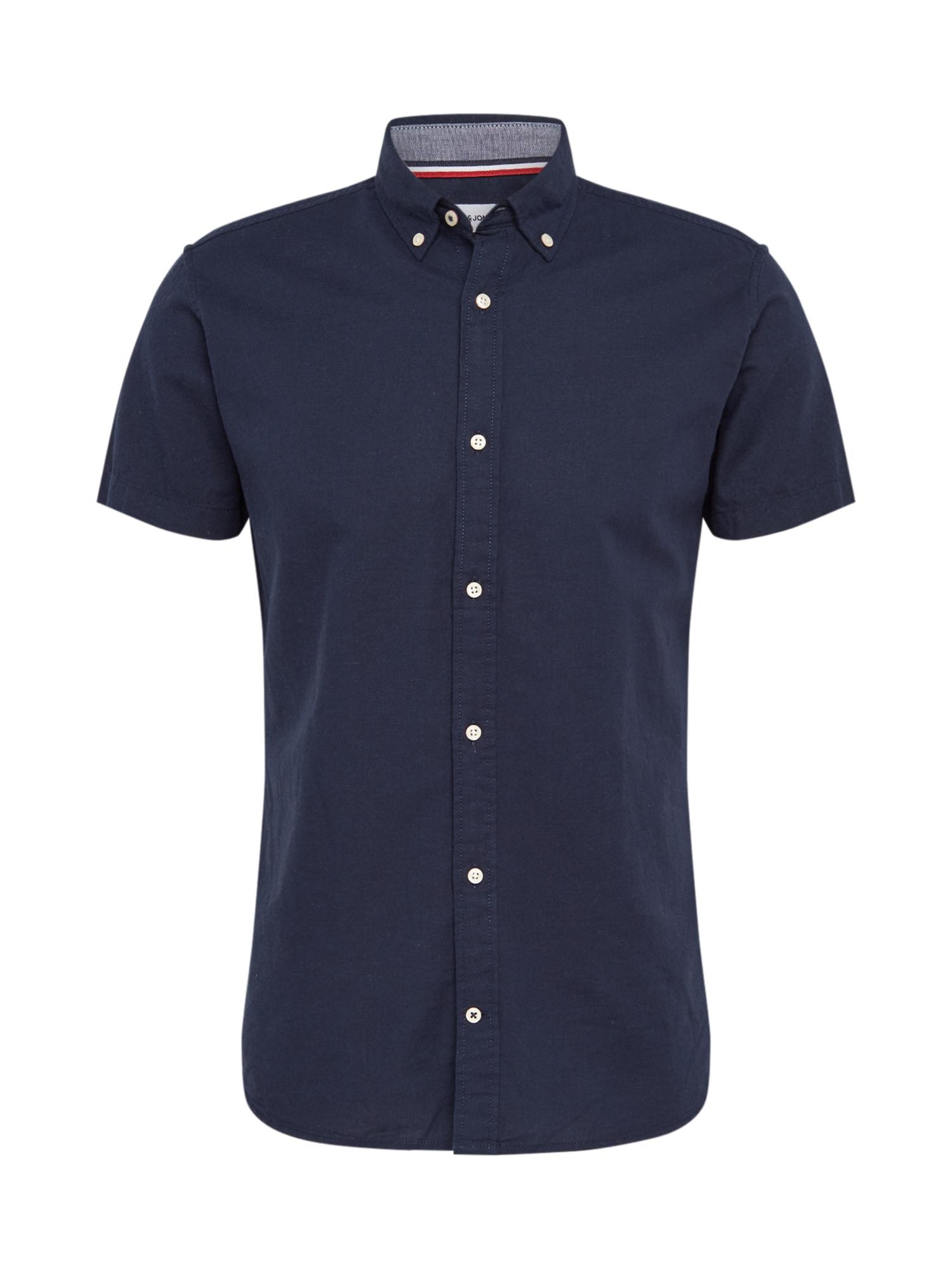 JACK & JONES Marškiniai mėlyna
