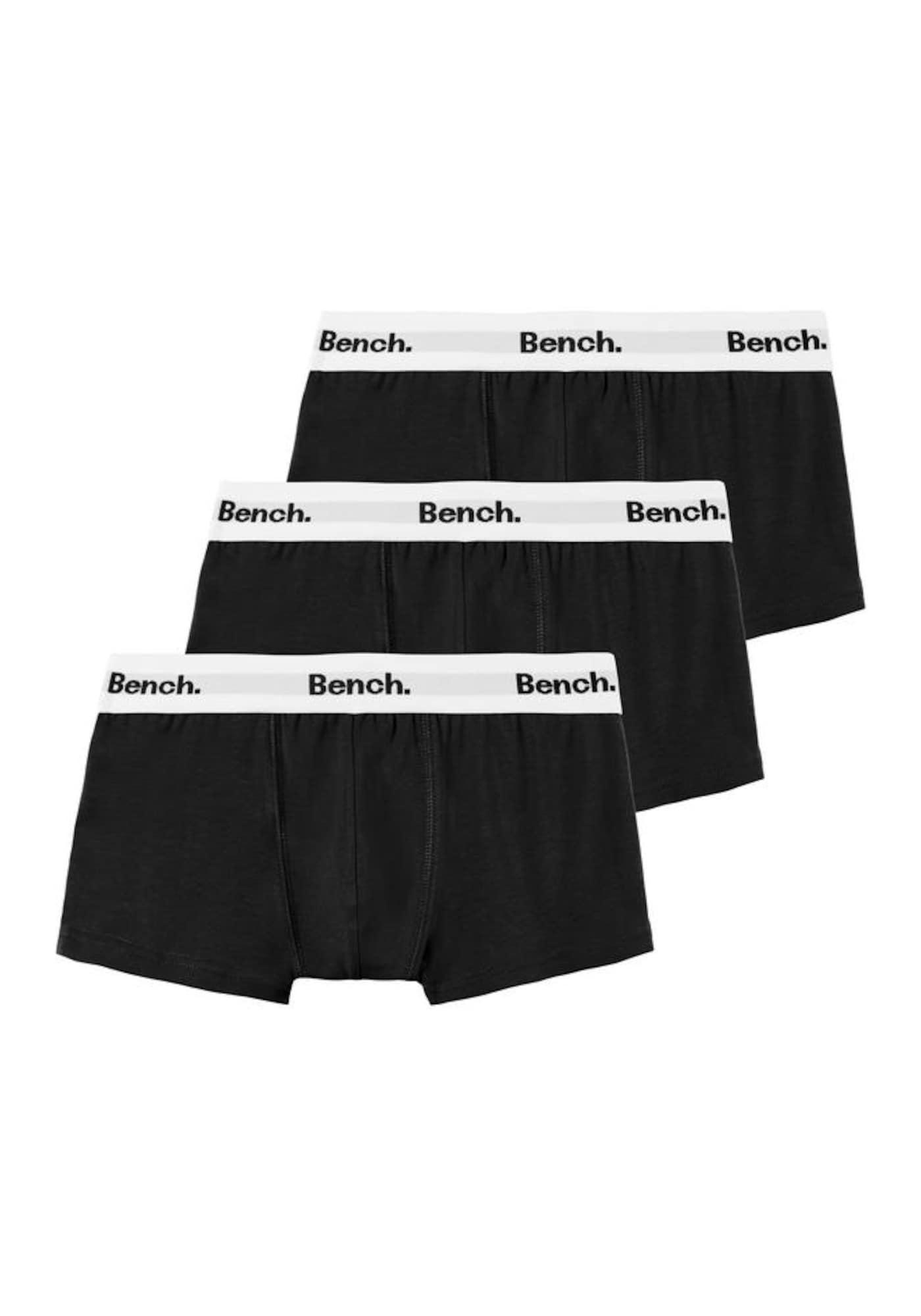 BENCH Apatinės kelnaitės balta / juoda
