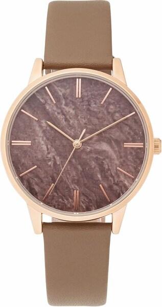 Uhren für Frauen - FIRETTI Quarzuhr rosegold taupe  - Onlineshop ABOUT YOU