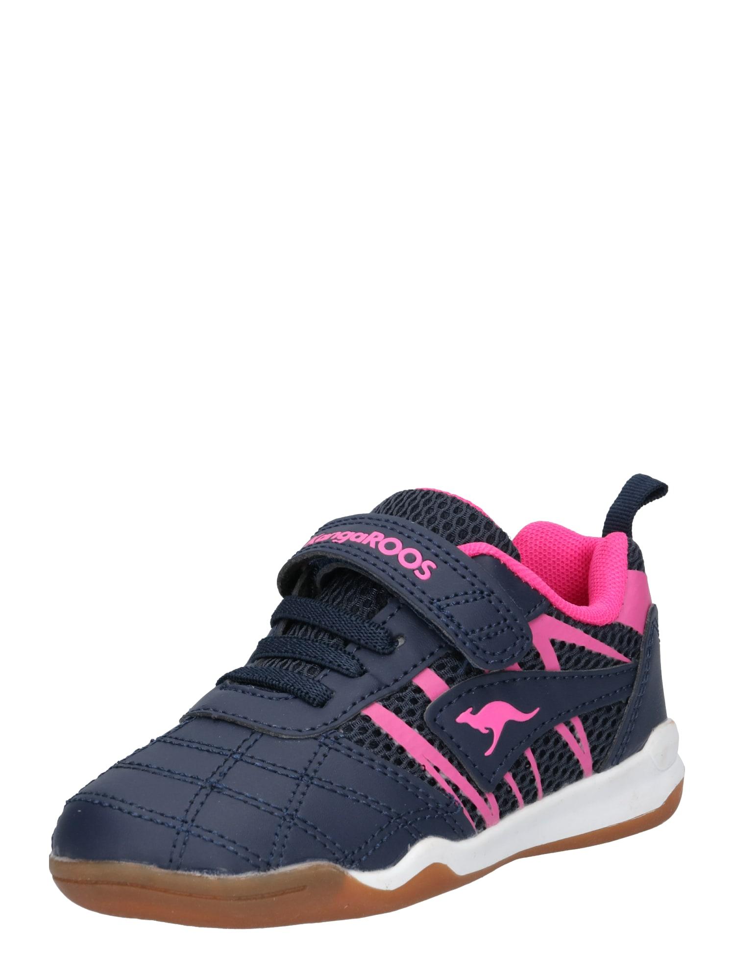 Tenisky Court Comb EV námořnická modř pink KangaROOS