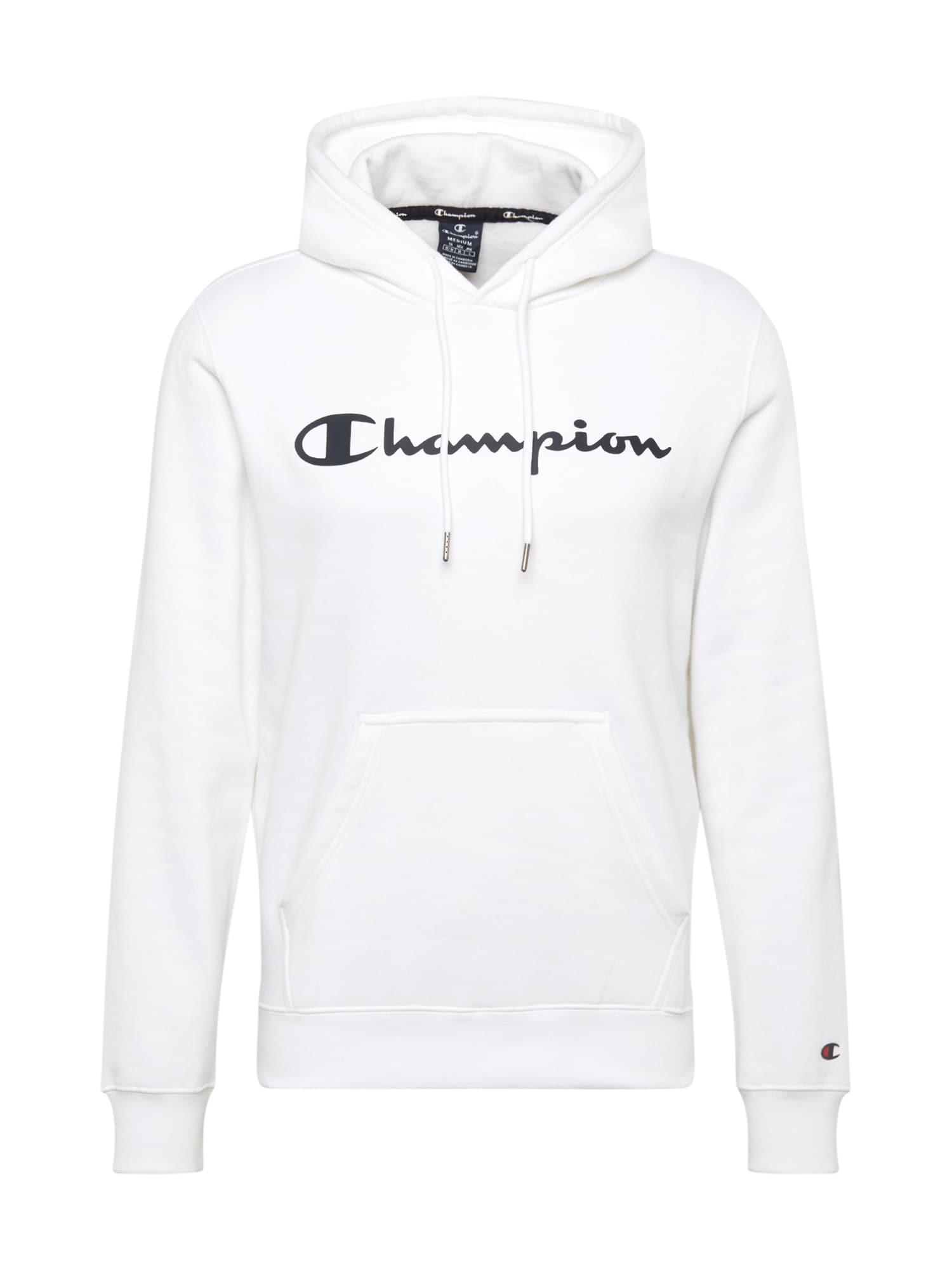 Champion Authentic Athletic Apparel Megztinis be užsegimo raudona / balta / tamsiai mėlyna