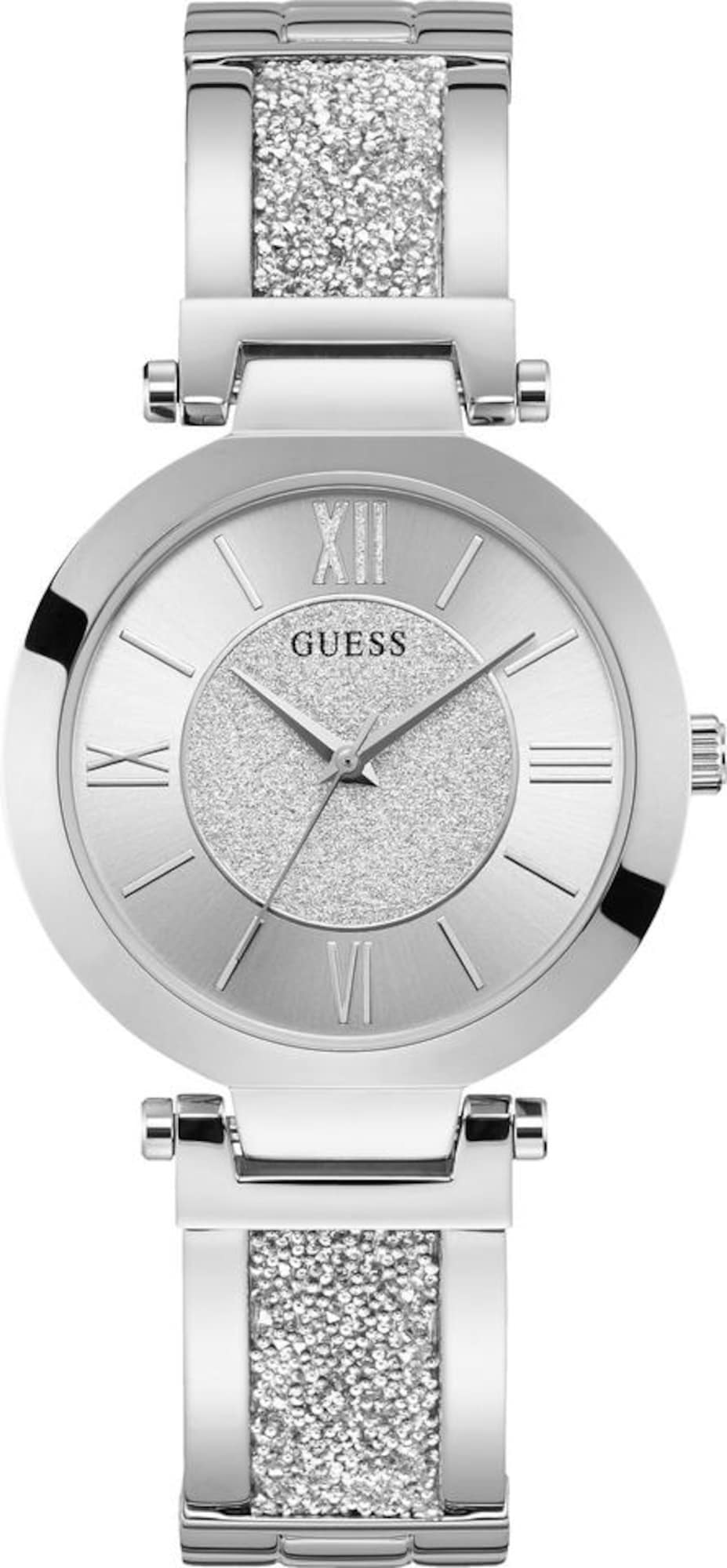 Damen Guess Uhr 'Aurora, W1288L1' silber | 00091661507588