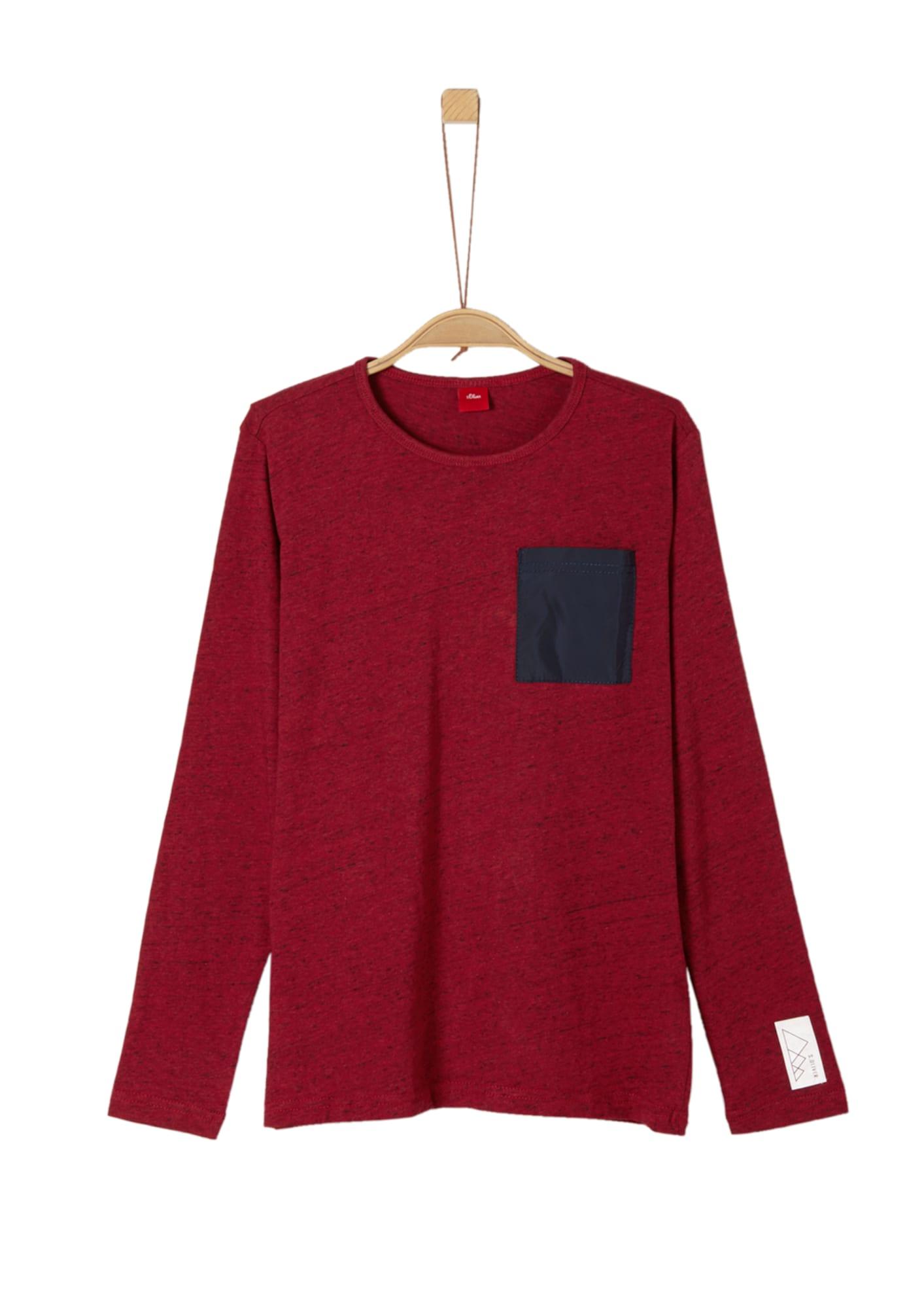 Jungen,  Kinder,  Kinder S.Oliver Shirt blau, grau, rot,  schwarz | 04057318234180