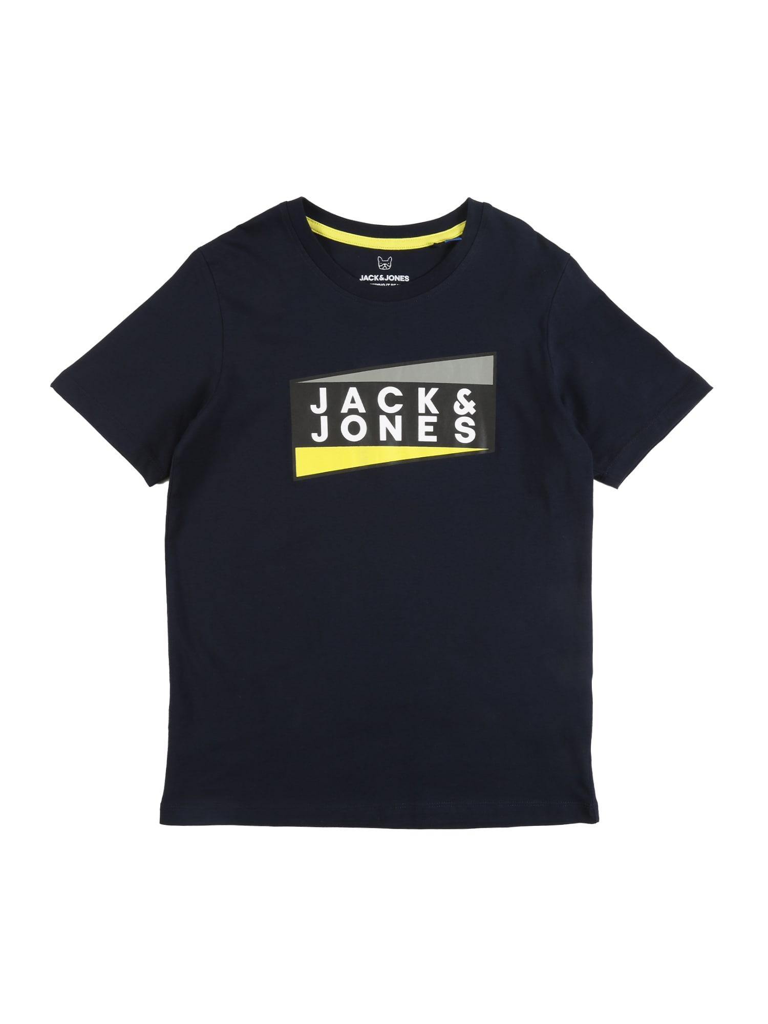 Jack & Jones Junior Marškinėliai 'SHAUN' tamsiai mėlyna