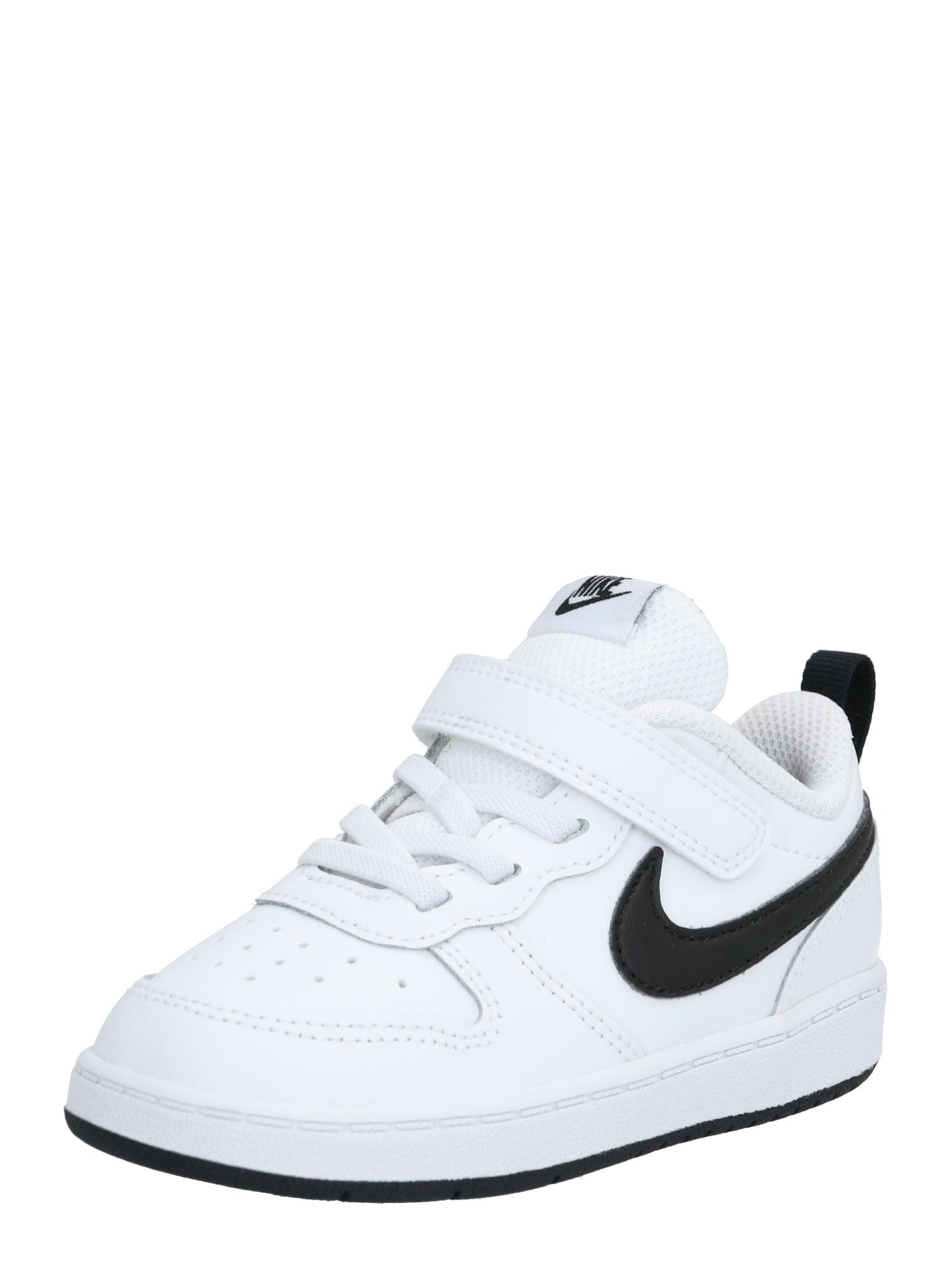 Nike Sportswear Tenisky 'Borough'  biela / čierna