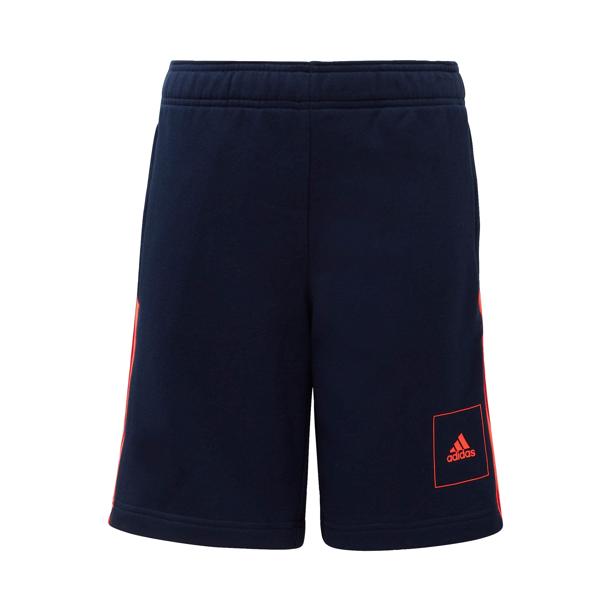 ADIDAS PERFORMANCE Sportinės kelnės neoninė oranžinė / tamsiai mėlyna