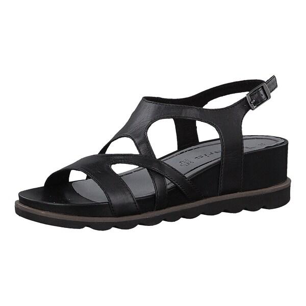 Sandalen für Frauen - Keilsandaletten › tamaris › schwarz  - Onlineshop ABOUT YOU