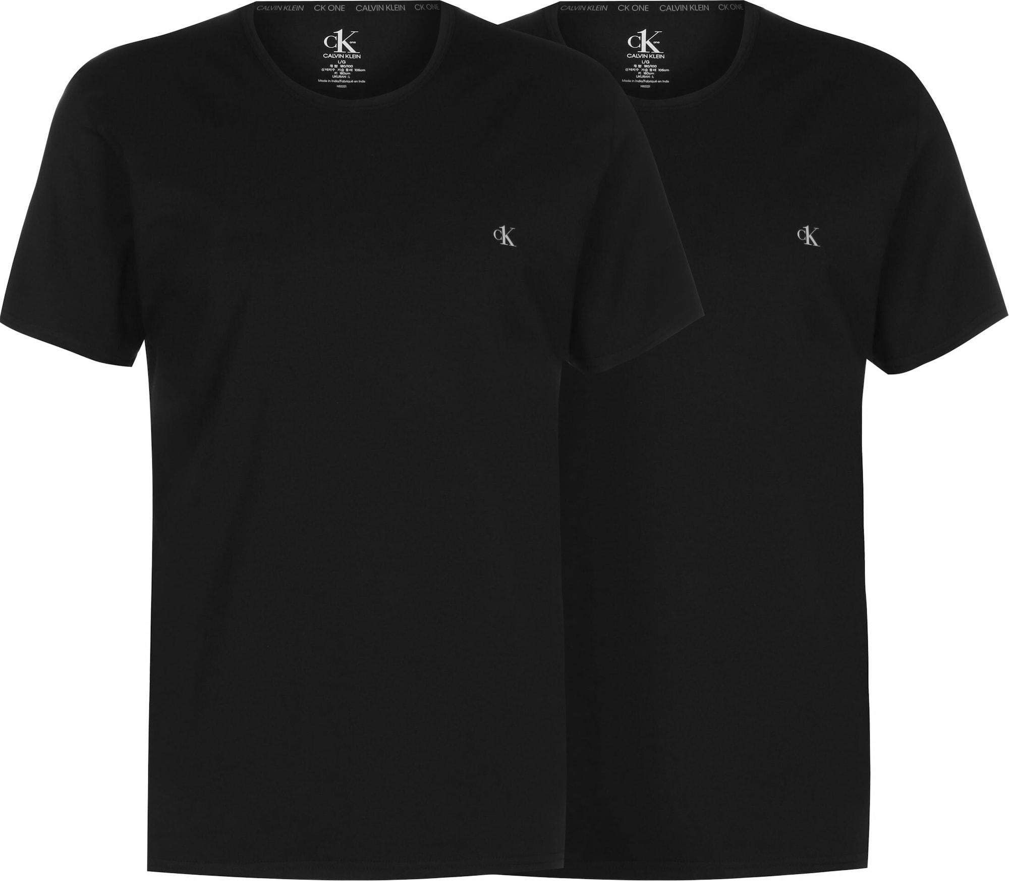 Calvin Klein Underwear Apatiniai marškinėliai juoda
