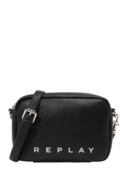 Schultertaschen für Frauen - Umhängetasche › Replay › schwarz weiß  - Onlineshop ABOUT YOU