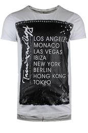 trueprodigy Herren T-Shirt The Presence schwarz,weiß | 04057124028263