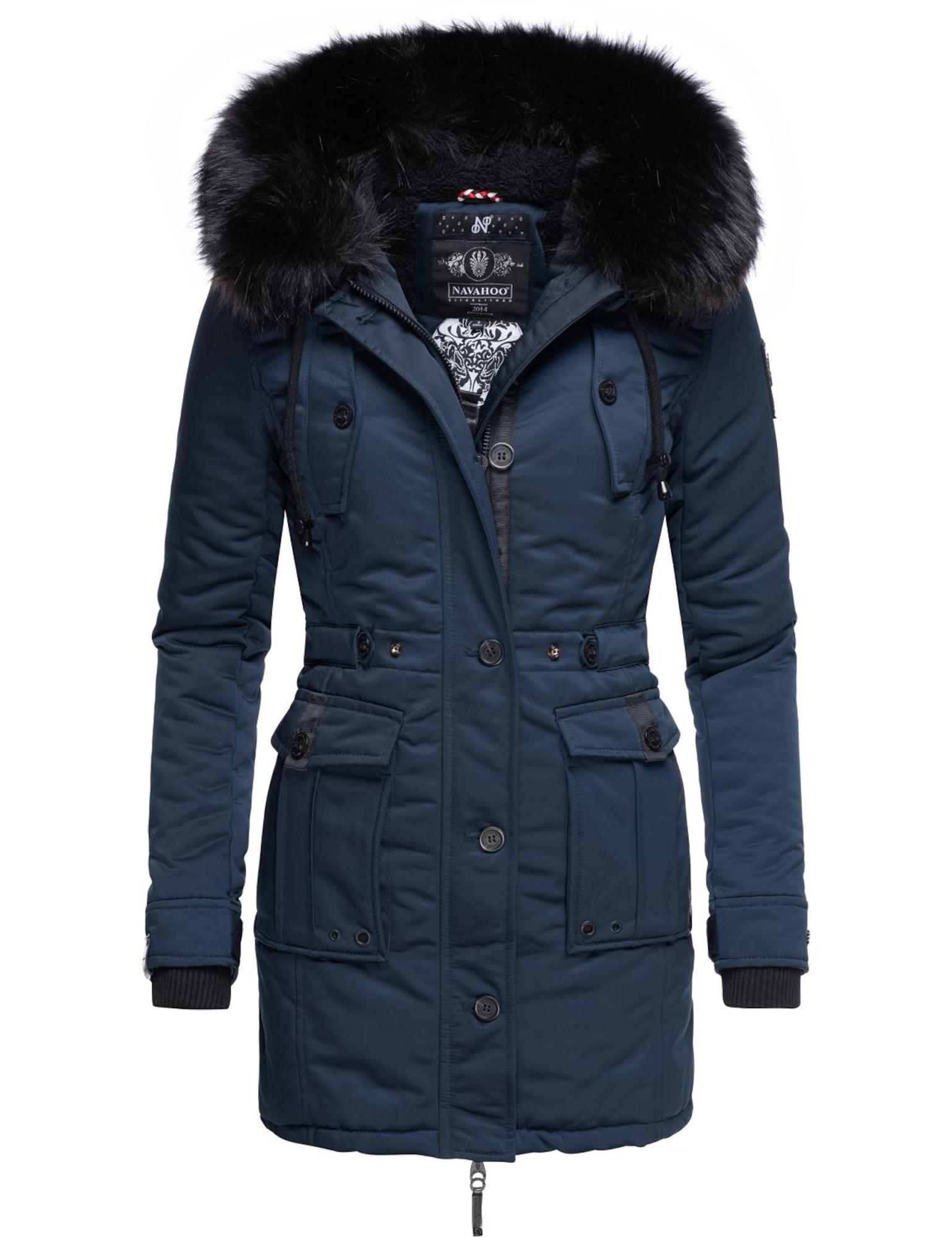 NAVAHOO Žieminis paltas tamsiai mėlyna