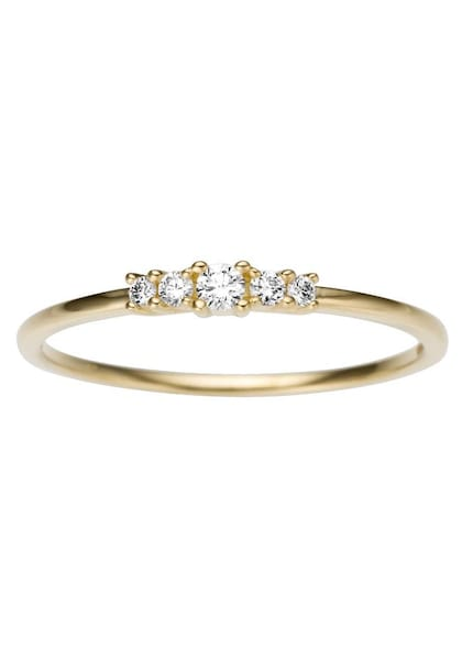 Ringe für Frauen - FIRETTI Diamantring gold weiß  - Onlineshop ABOUT YOU