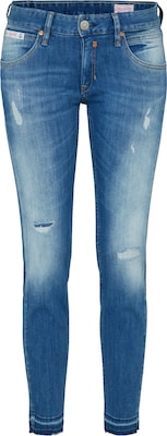Herrlicher 'Touch Cropped Denim Powerstretch' Slimfit Jeans