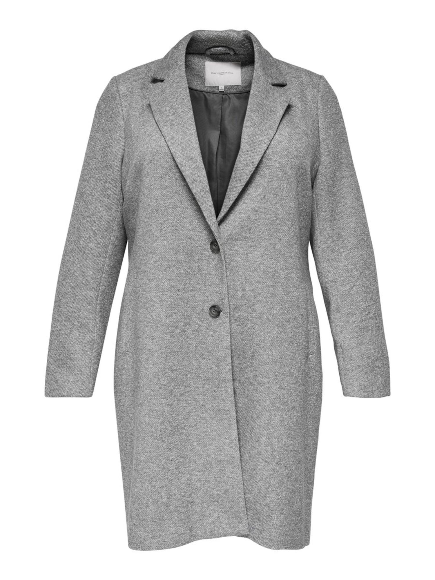 ONLY Carmakoma Rudeninis-žieminis paltas pilka