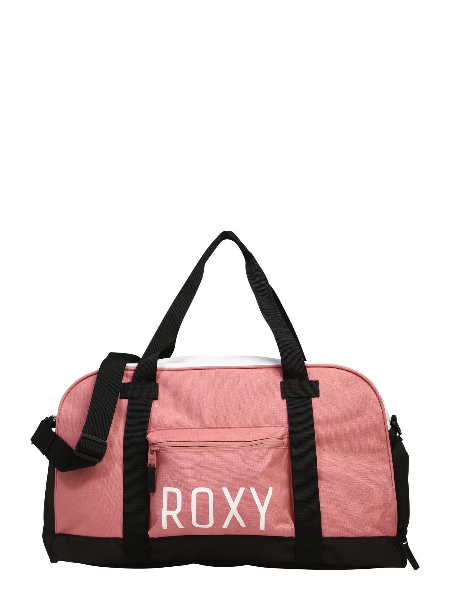 ROXY Sportovní taška  růže / černá / bílá