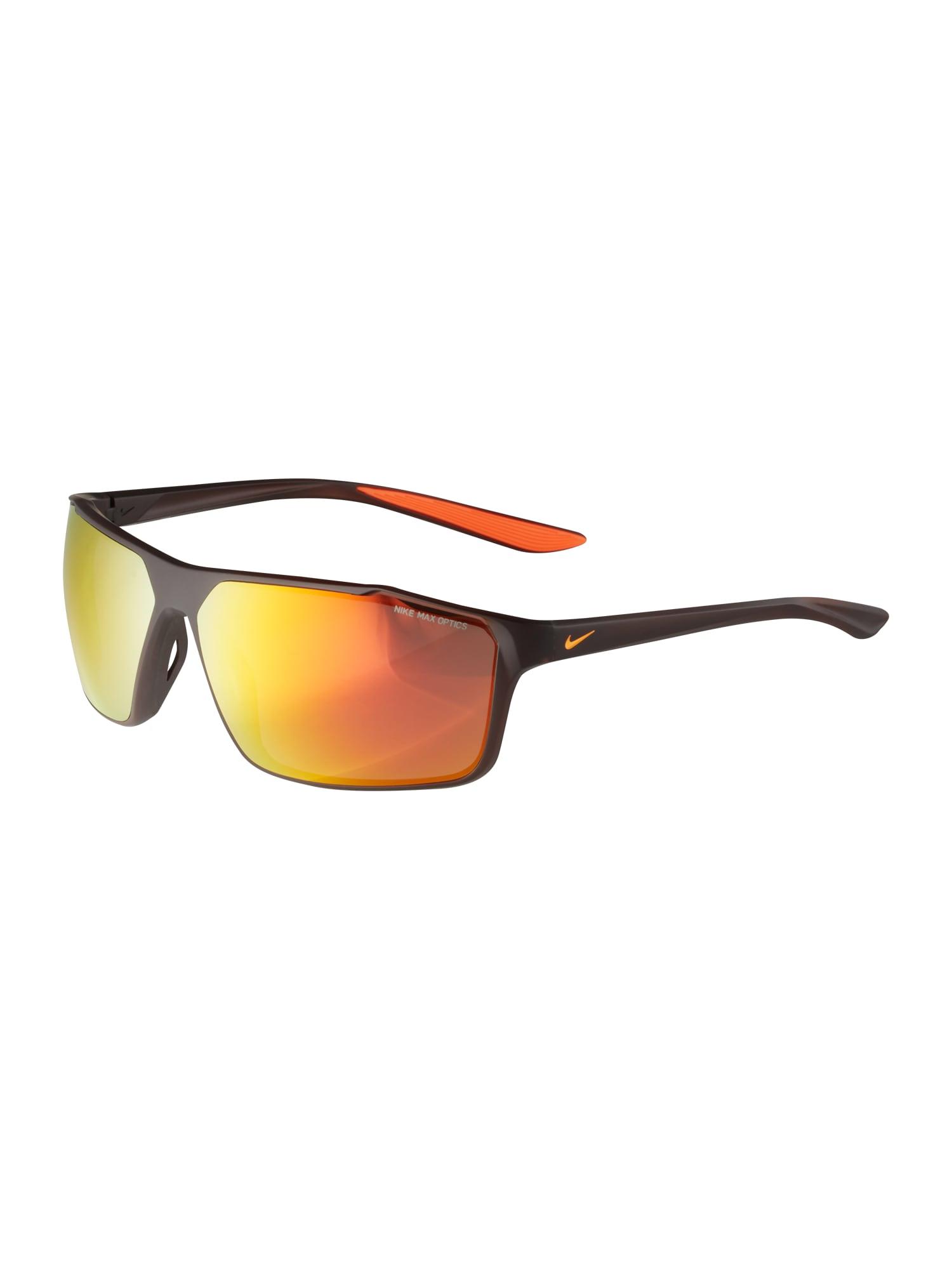 NIKE Športové slnečné okuliare 'Windstorm'  zlatá / oranžová