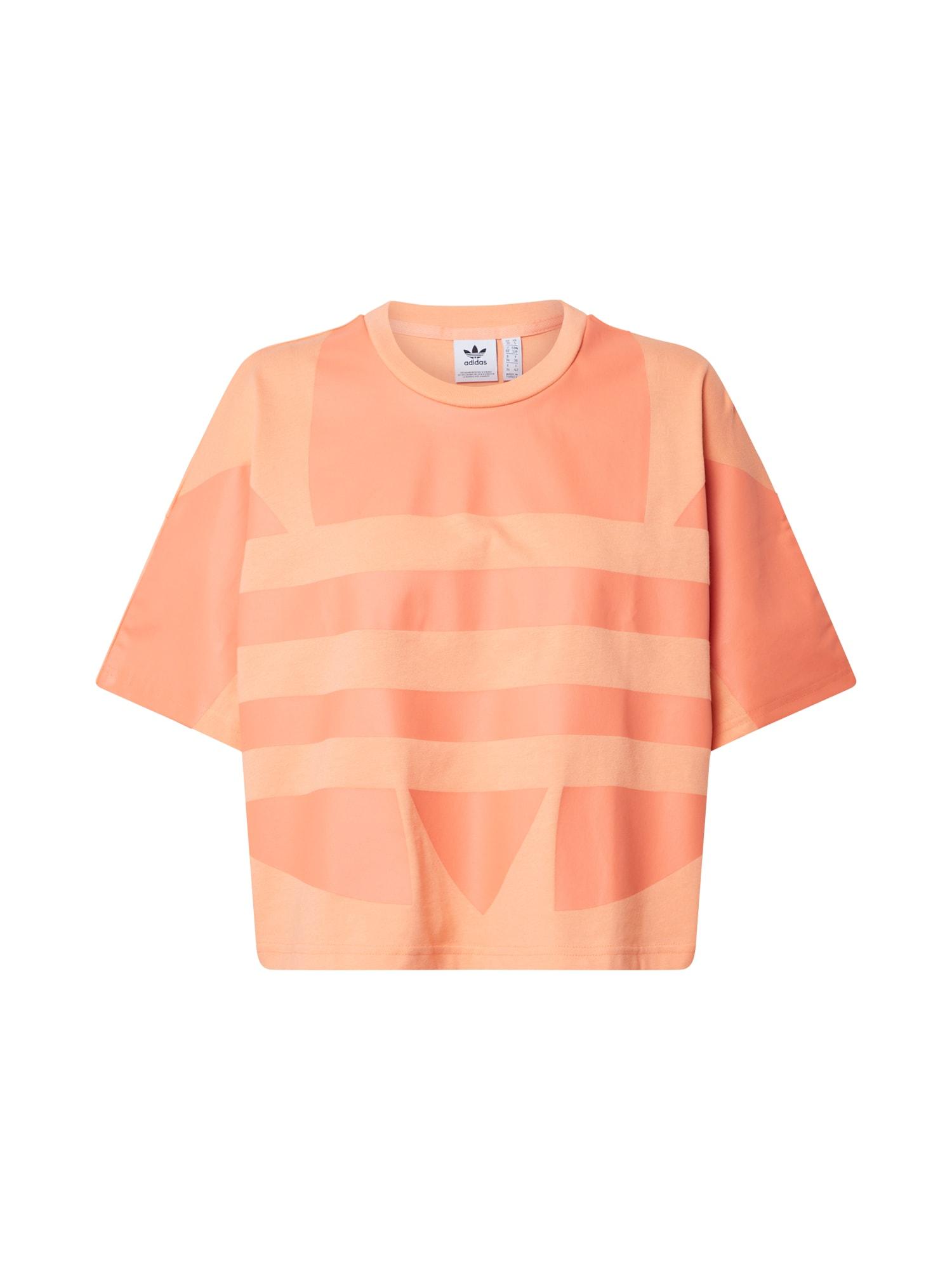 ADIDAS ORIGINALS Marškinėliai oranžinė
