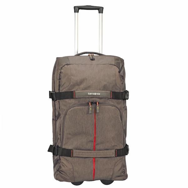 Reisegepaeck für Frauen - SAMSONITE Rewind 2 Rollen Reisetasche 68 cm taupe schwarz  - Onlineshop ABOUT YOU